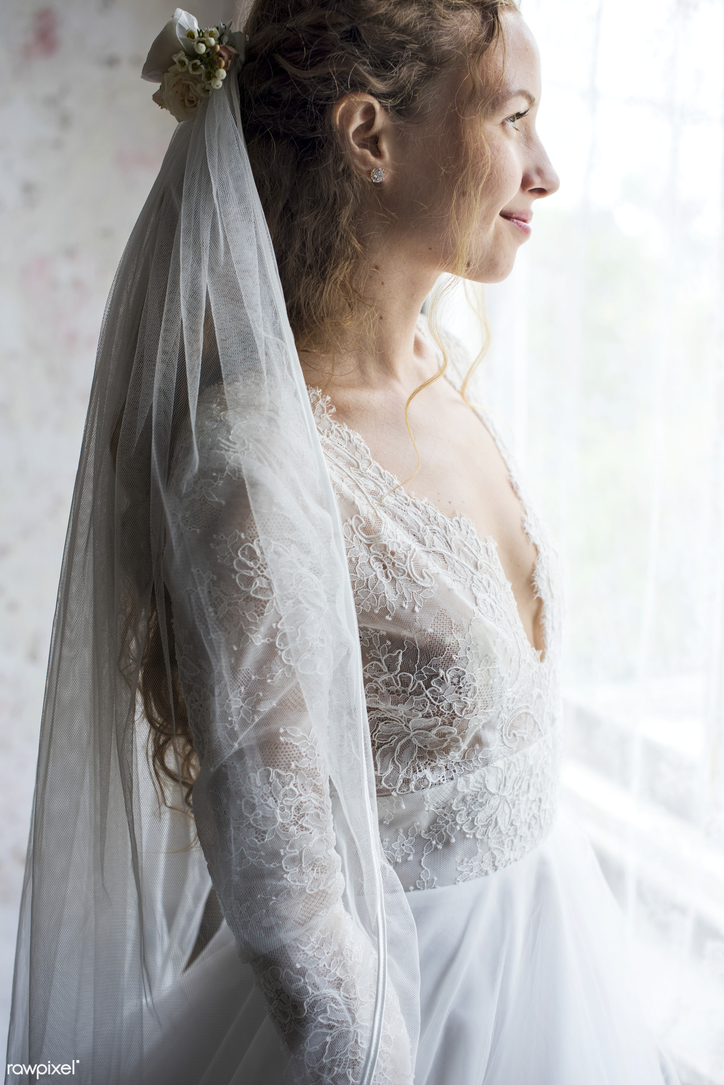 person, occasion, white dress, people, caucasian, love, glamour, gorgeous, attractive, woman, happy, feminine, gown, bride,...