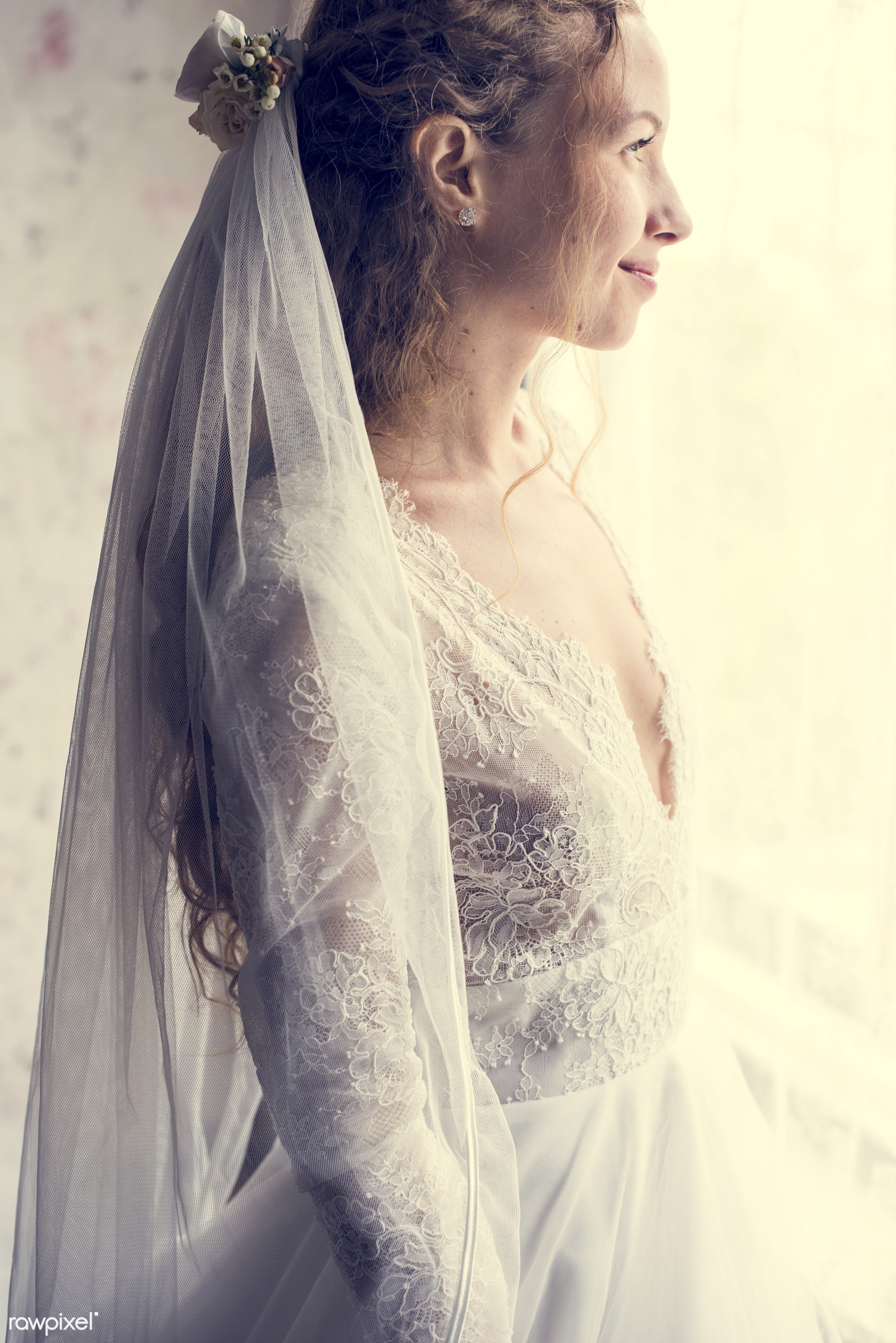 person, occasion, white dress, people, caucasian, glamour, love, gorgeous, attractive, happy, woman, feminine, gown, bride,...