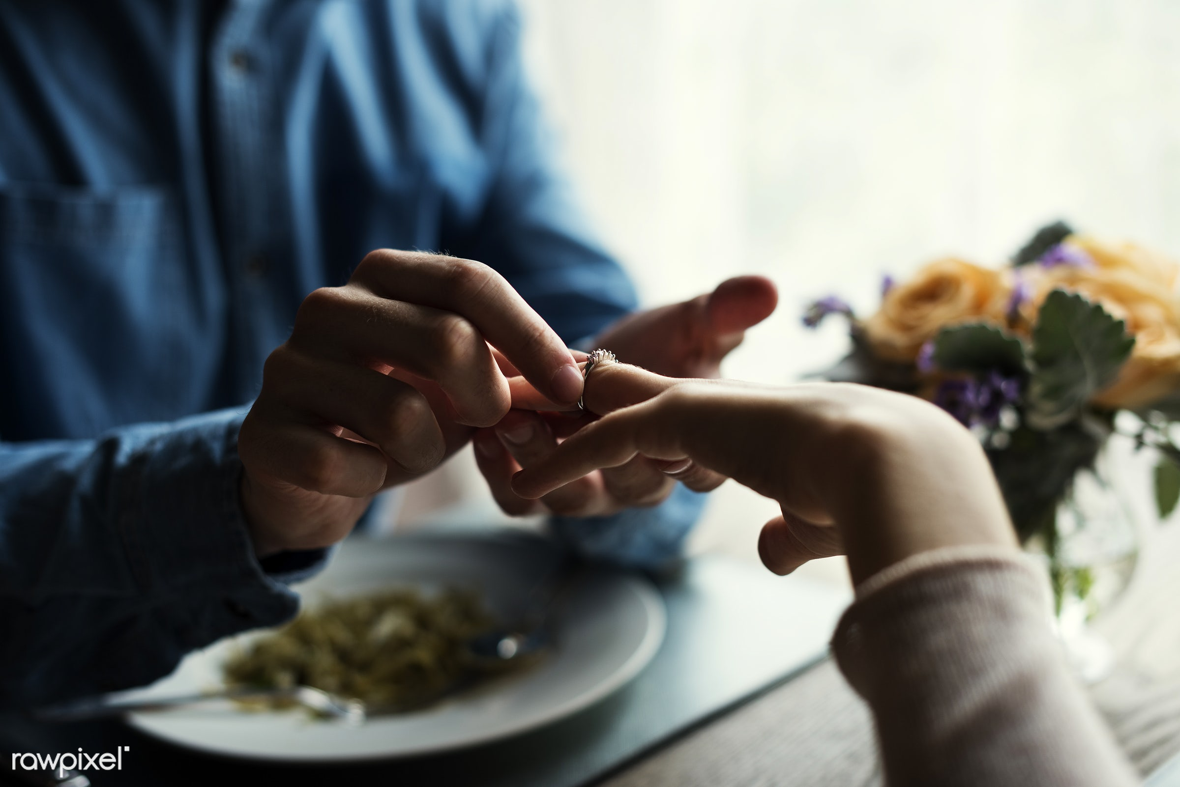 expression, person, people, together, love, gather, woman, drink, lunch, cheerful, ring, hold, happiness, table, dinner,...