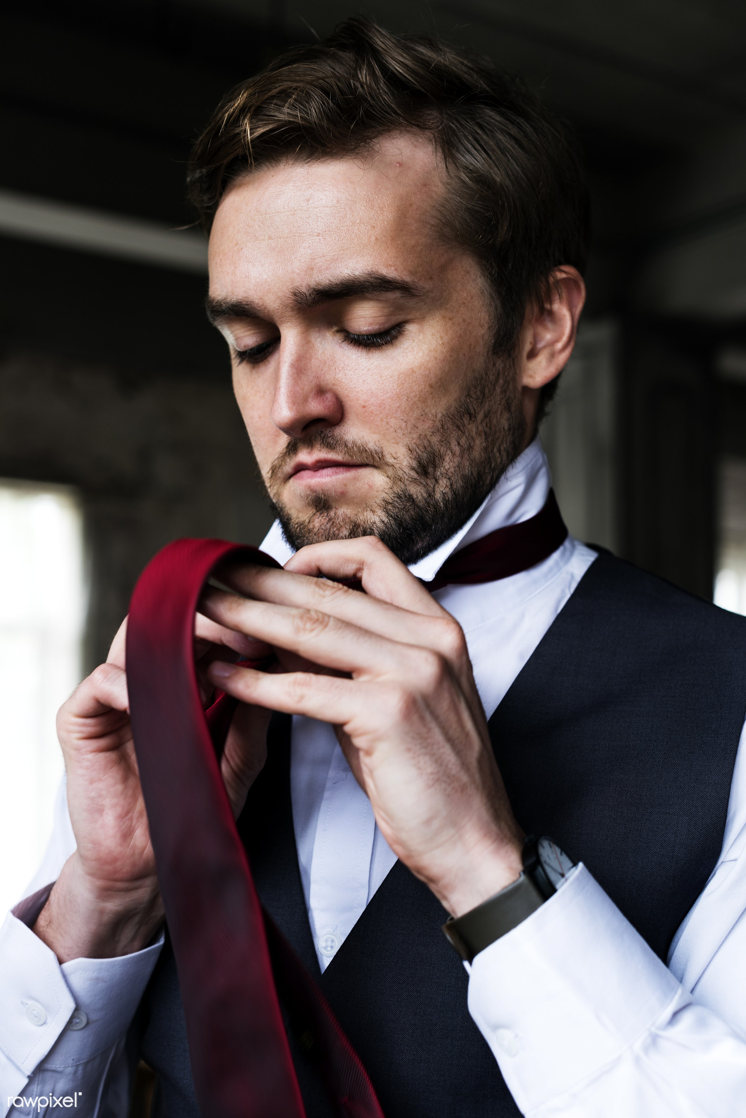 person, tie, dress up, occasion, people, caucasian, love, glamour, happy, attractive, gown, men, cheerful, marry, man, vest...