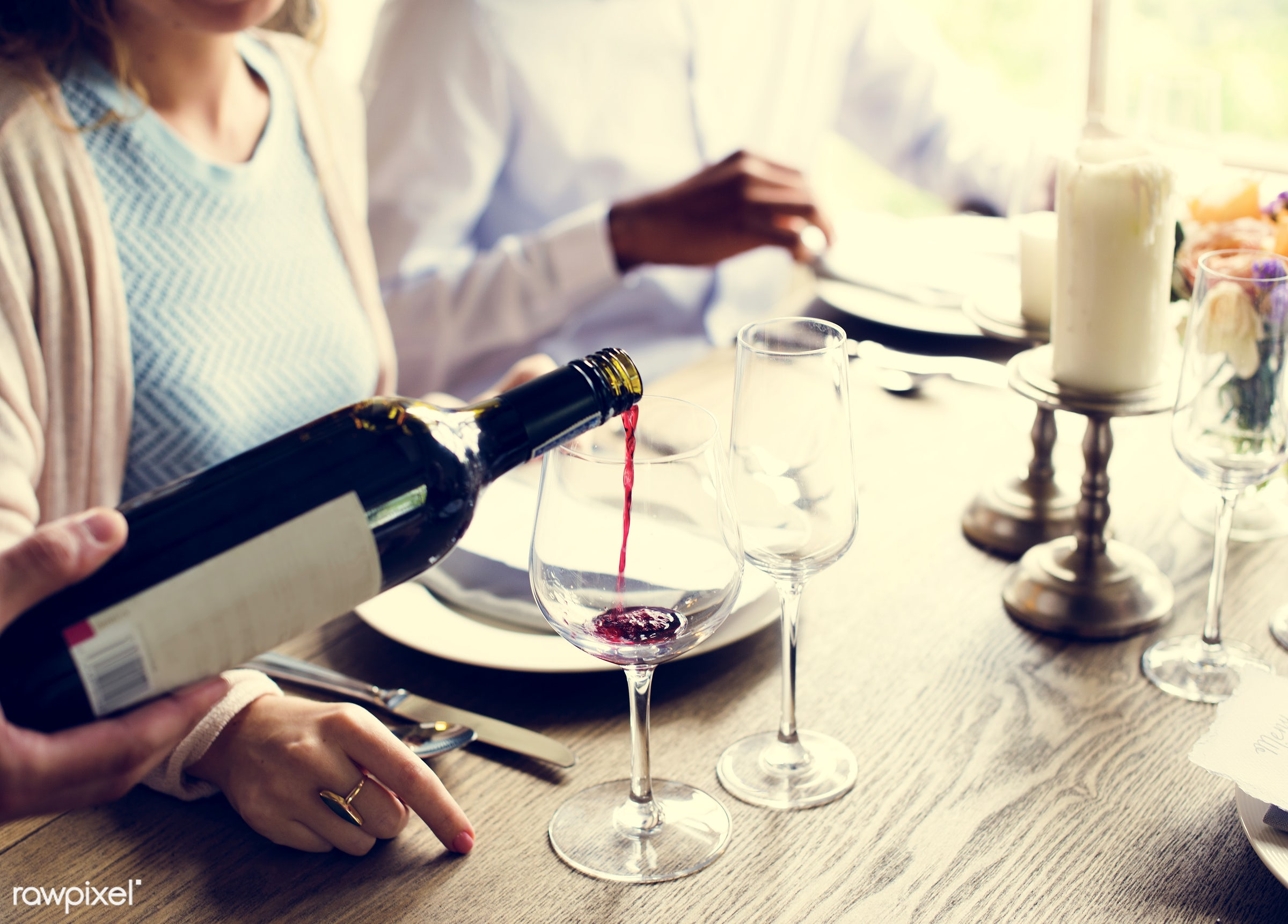 person, red wine, holding, relax, customer, people, taste, together, friends, relaxed, gather, woman, pouring, lifestyle,...