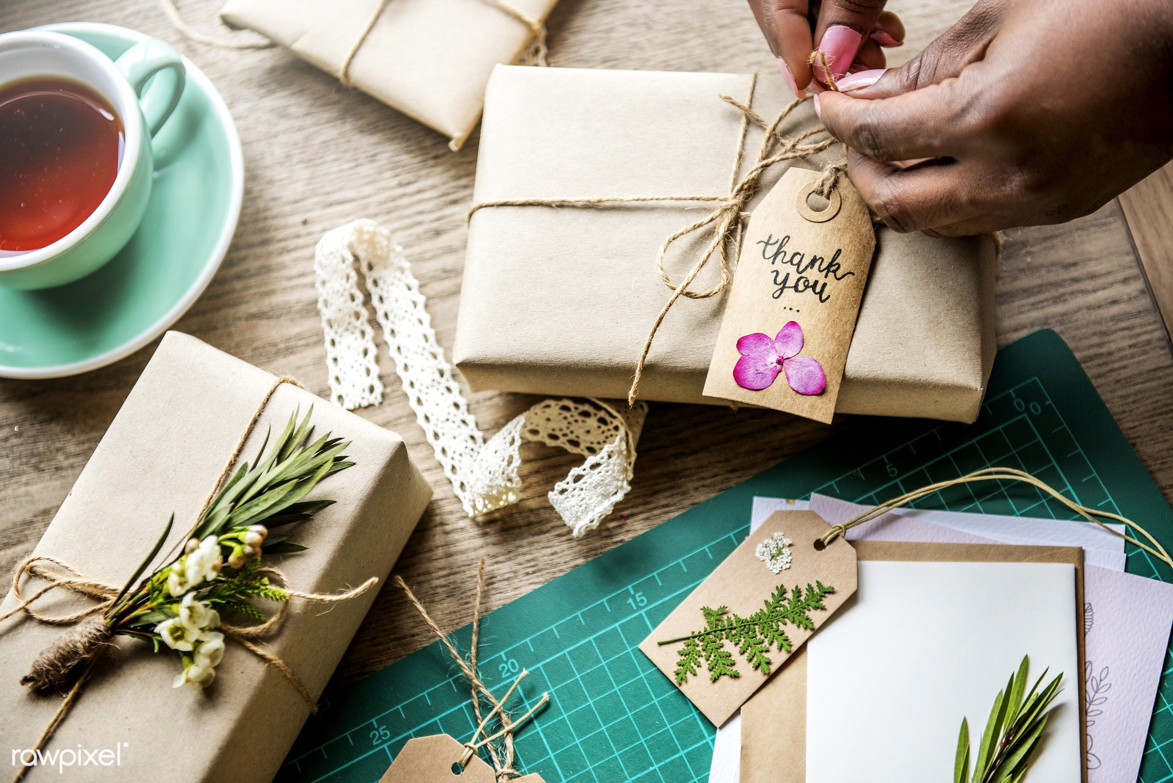 aerial, art, artsy, birthday, bow, box, card, closeup, craft, creative, decor, decoration, design, desk, dry flower, figures...
