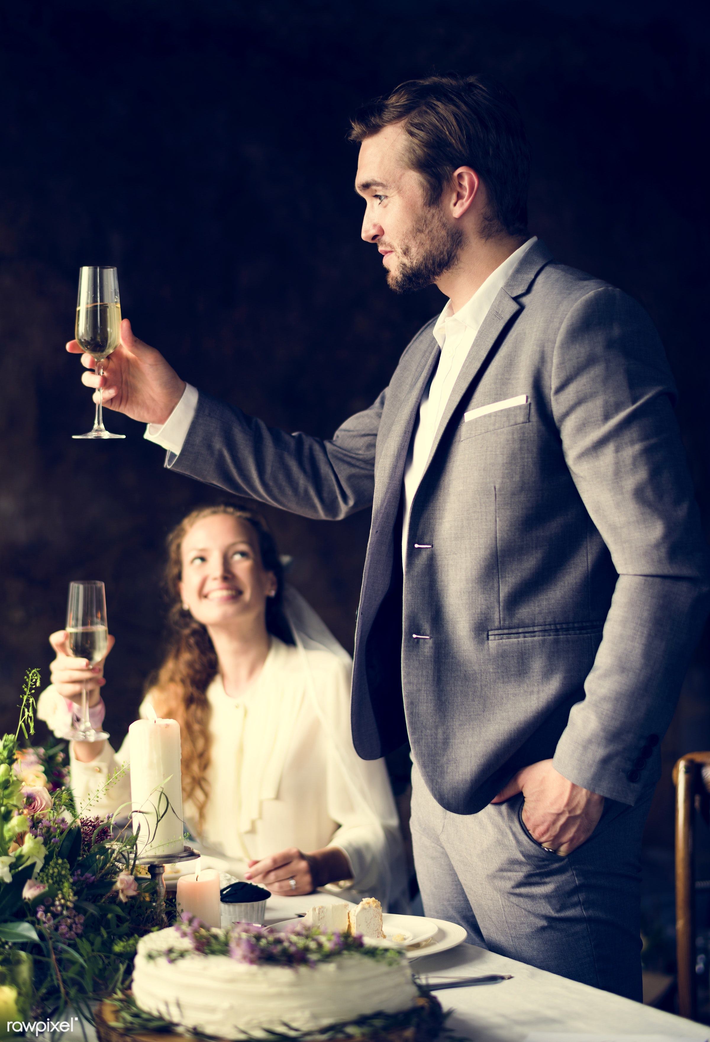 expression, person, occasion, smitten, restaurant, husband, people, together, love, married, friends, woman, happy, event,...