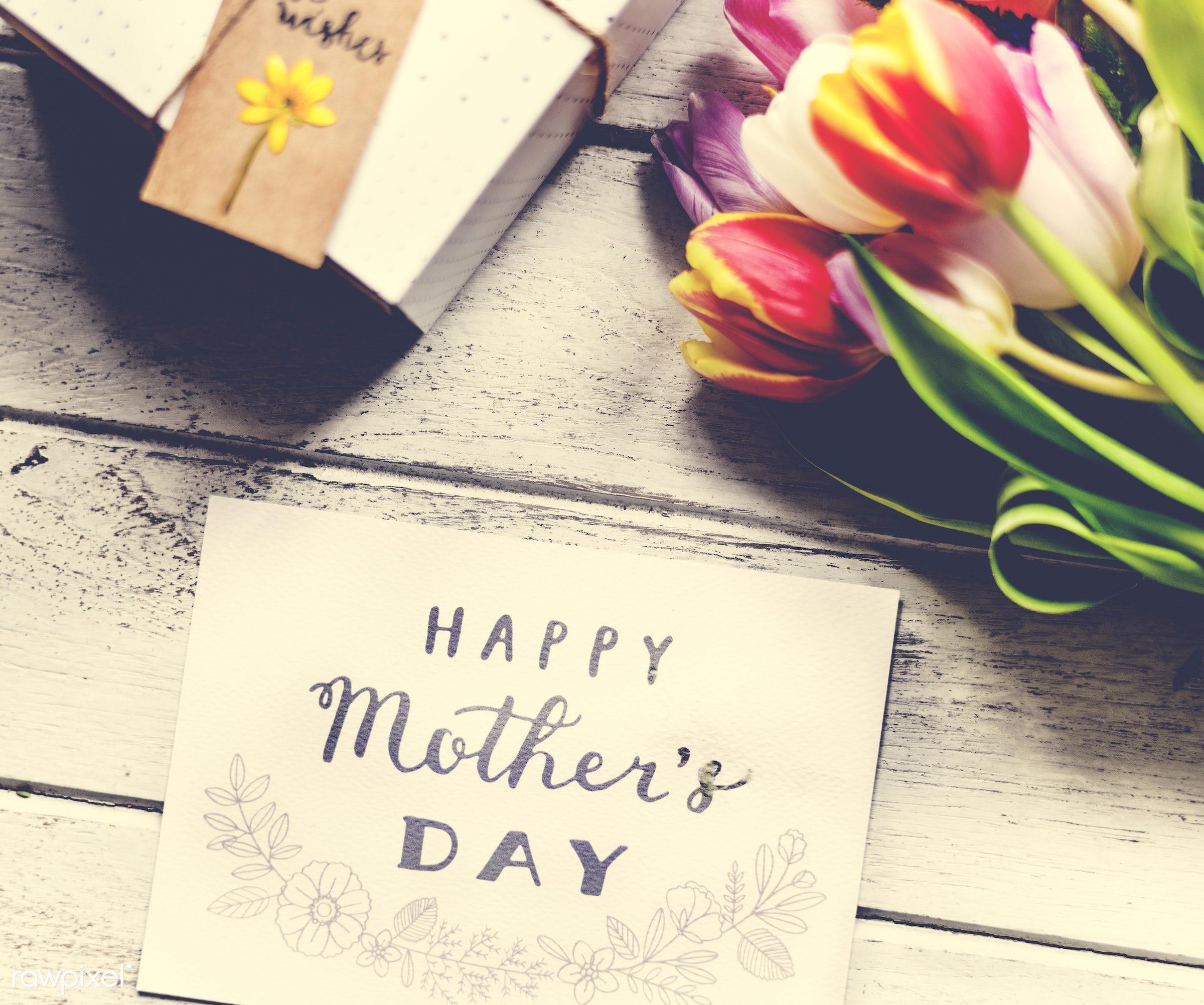 nobody, detail, wish, show, decor, nature, card, flowers, greeting, refreshment, florist, present, arrangement, mother, day...