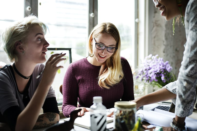 Women business meeting
