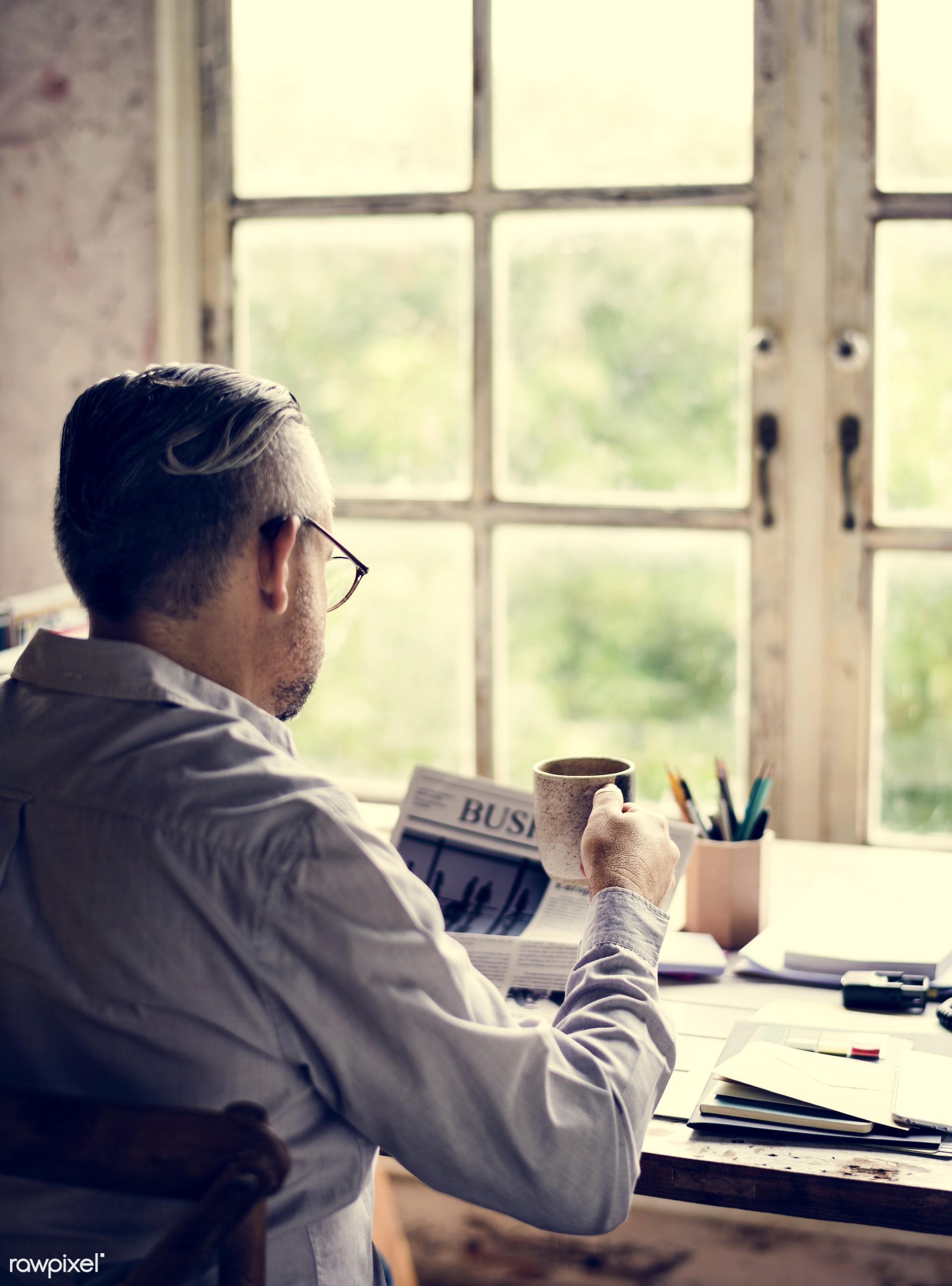 action, adult, business, businessman, casual, desk, folders, formal, hand, hod, ideas, man, mature, men, merchandise, office...