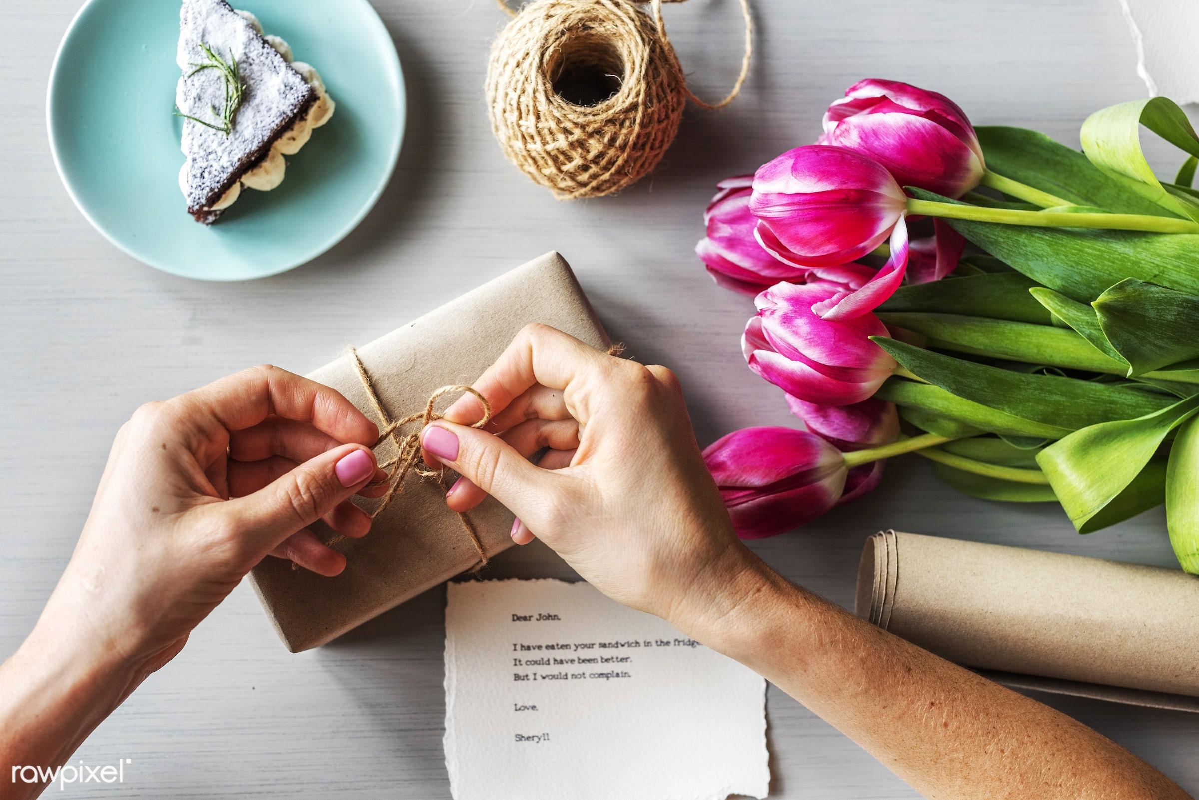 plant, bouquet, craft, decorative, botany, plants, romance, spring, blossom, nature, fresh, card, flower, cake, handcraft,...