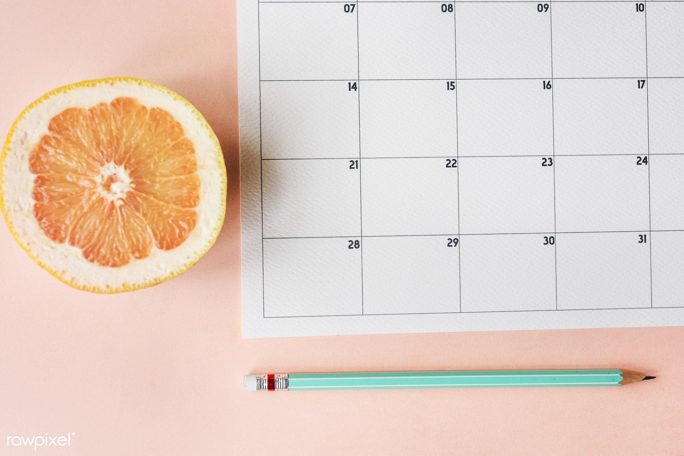 nobody, reminder, memo, data, organize, date, space, event, to do list, note, calendar, agenda, information, orange, fruit,...