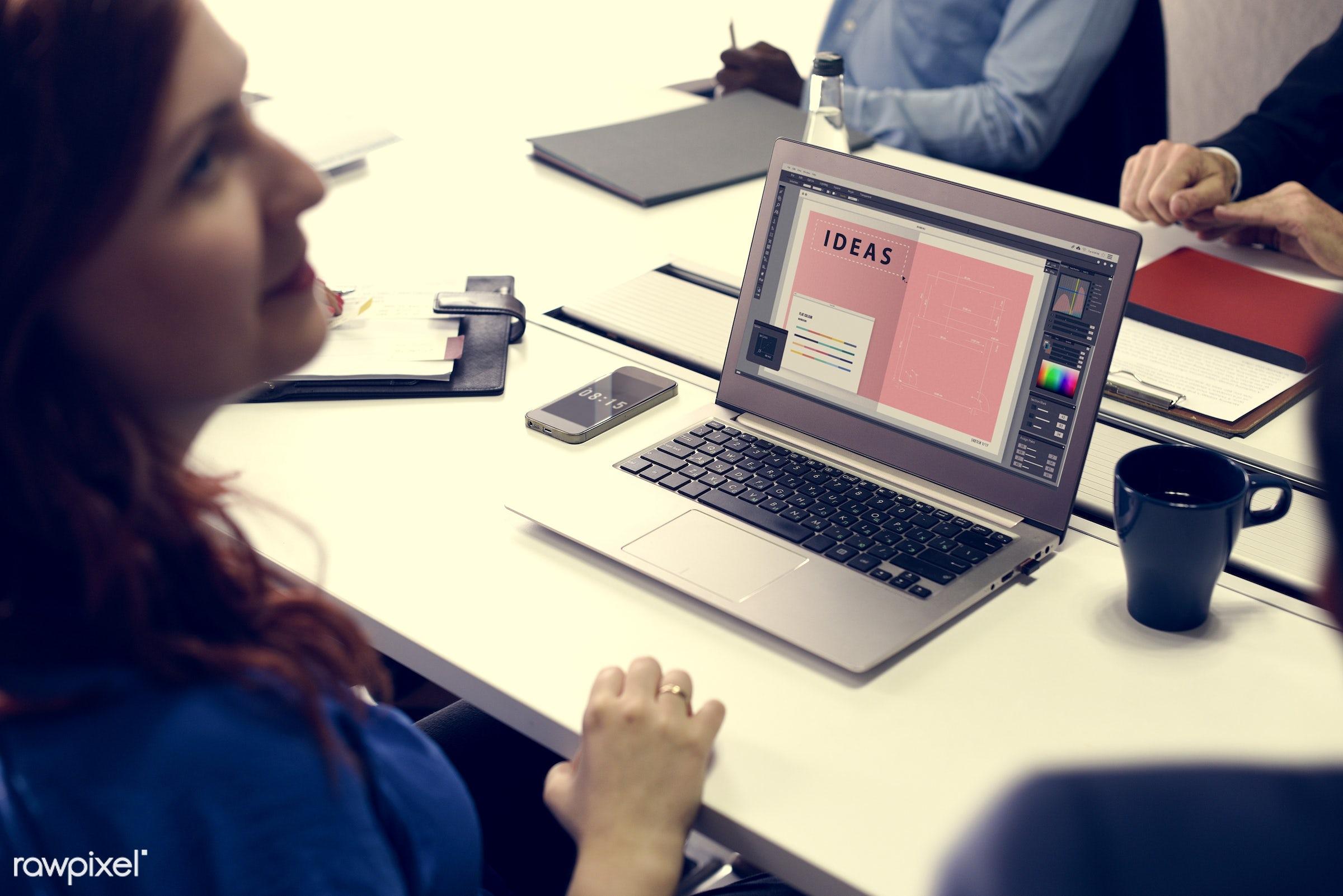 brainstorm, casual, colleagues, communication, creative, device, digital, diverse, diversity, friends, graphic, graphic...
