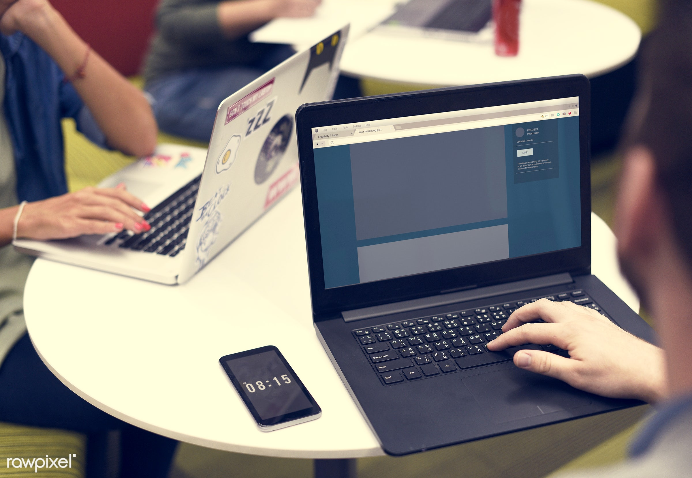 brainstorm, cellphone, colleagues, computer, creative, device, digital, digital device, hands, ideas, laptop, lifestyle,...