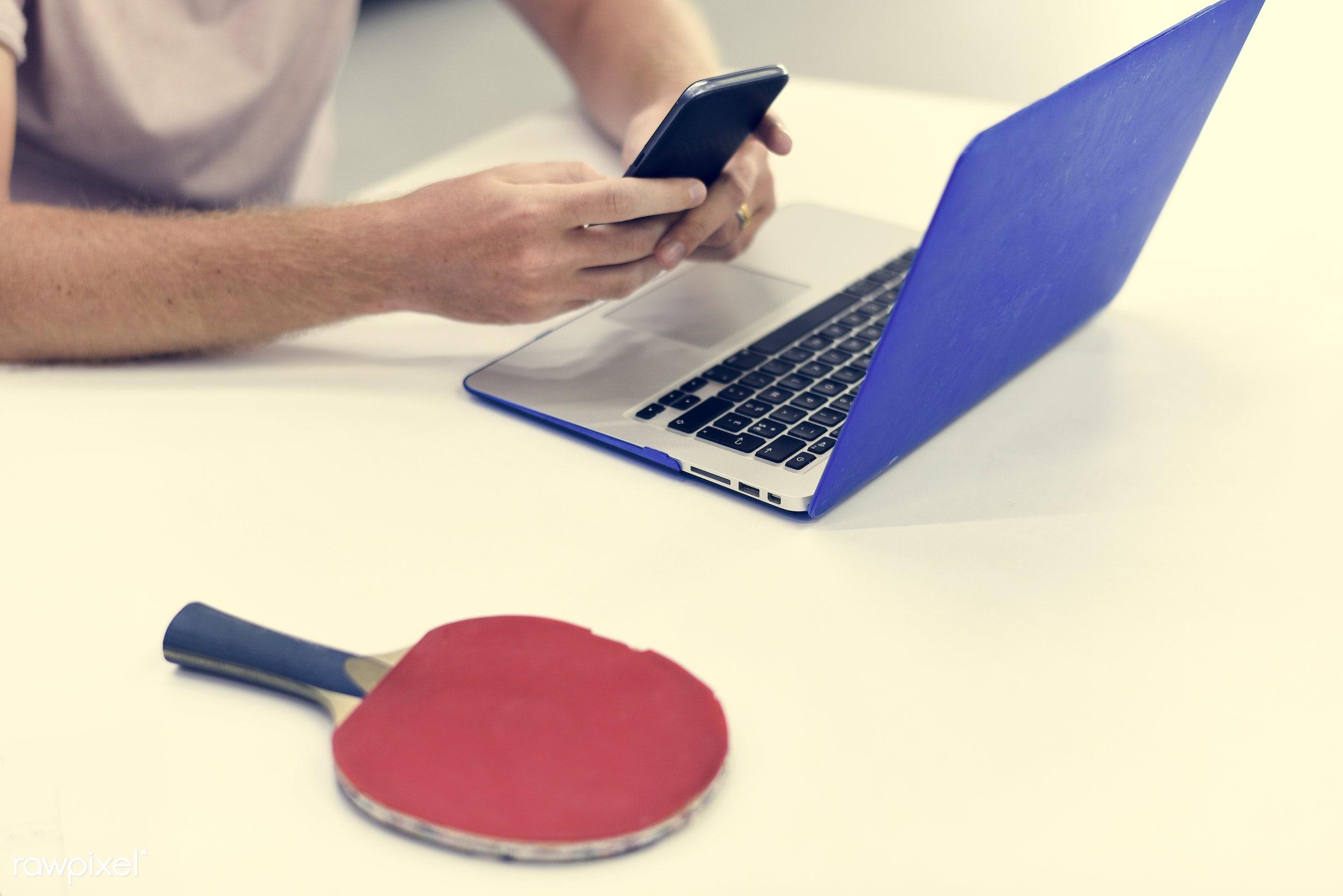alone, break, cellphone, computer, device, digital, digital device, entertainment, hands, laptop, lifestyle, man, mobile,...