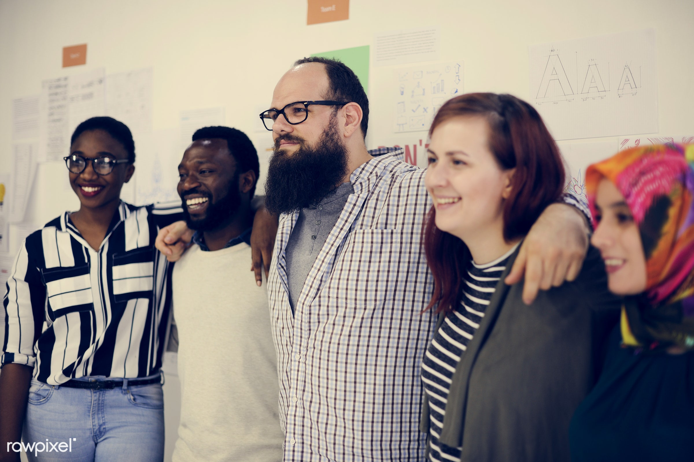 african descent, attend, black, brainstorm, business, casual, caucasian, class, colleagues, company, course, coworking,...