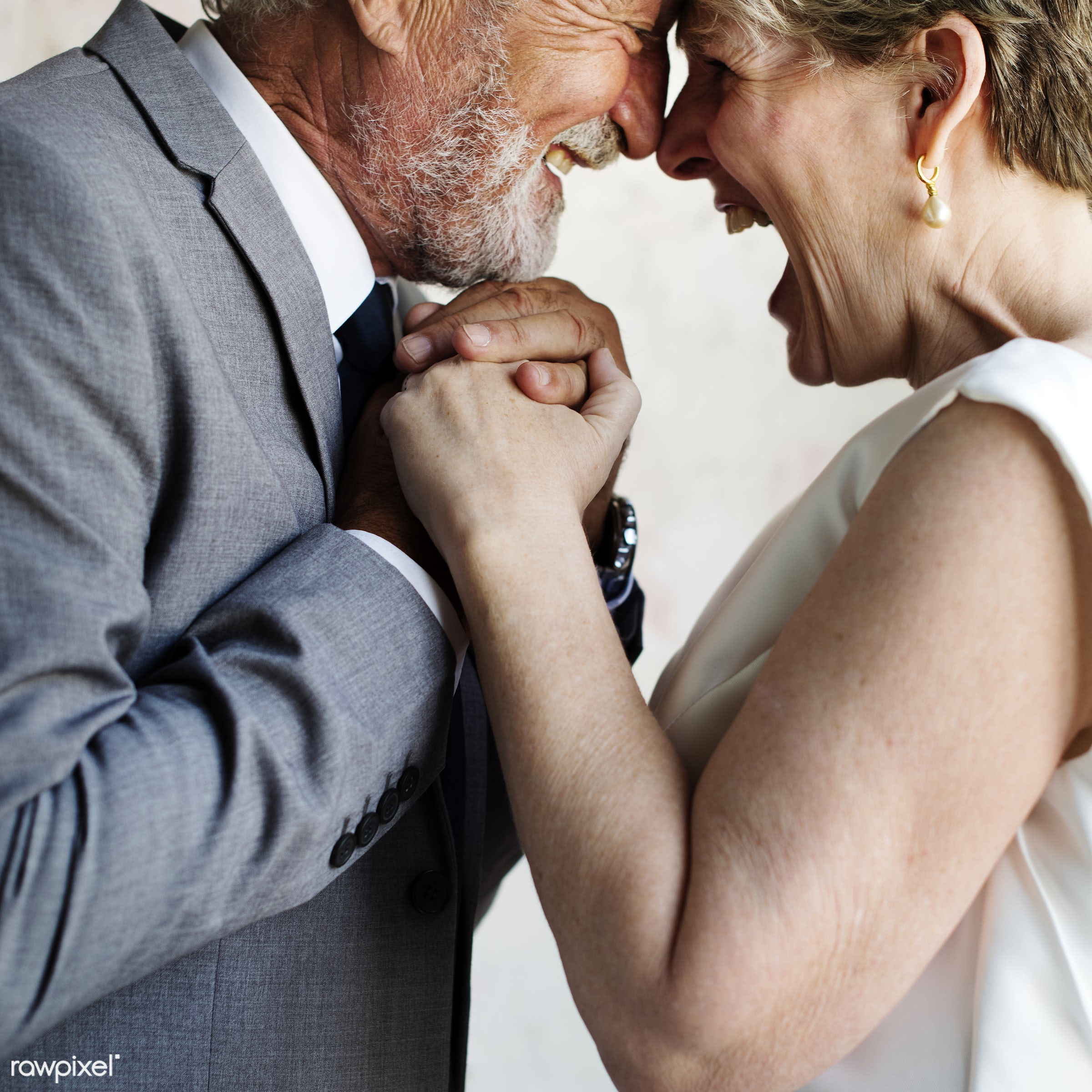 holding, occasion, husband, people, caucasian, love, married, hands, gala, spouse, cheerful, senior couple, closeup, fiance...