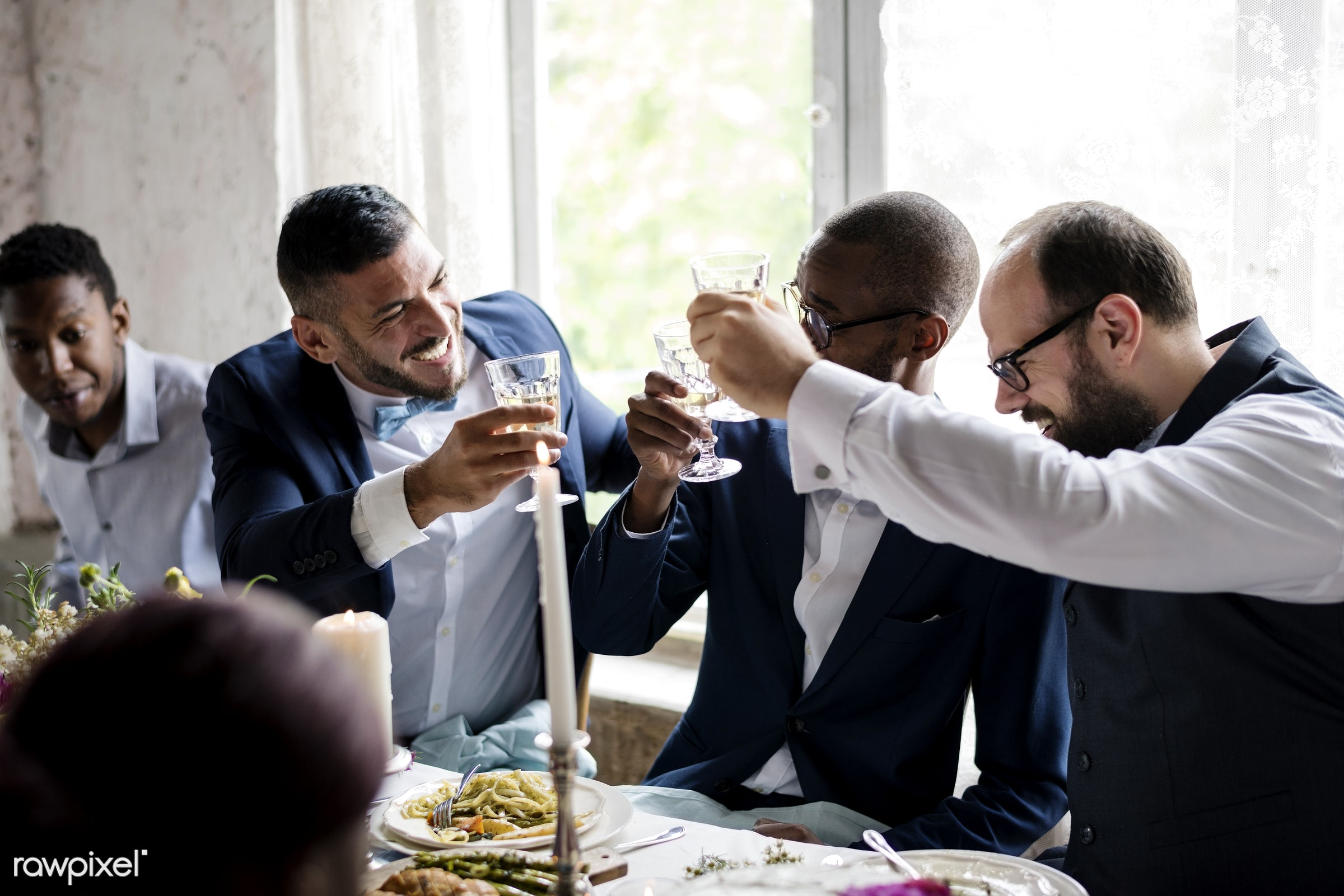 glasses, holding, occasion, congratulations, people, together, love, married, friends, congrats, hands, gather, drink, glass...