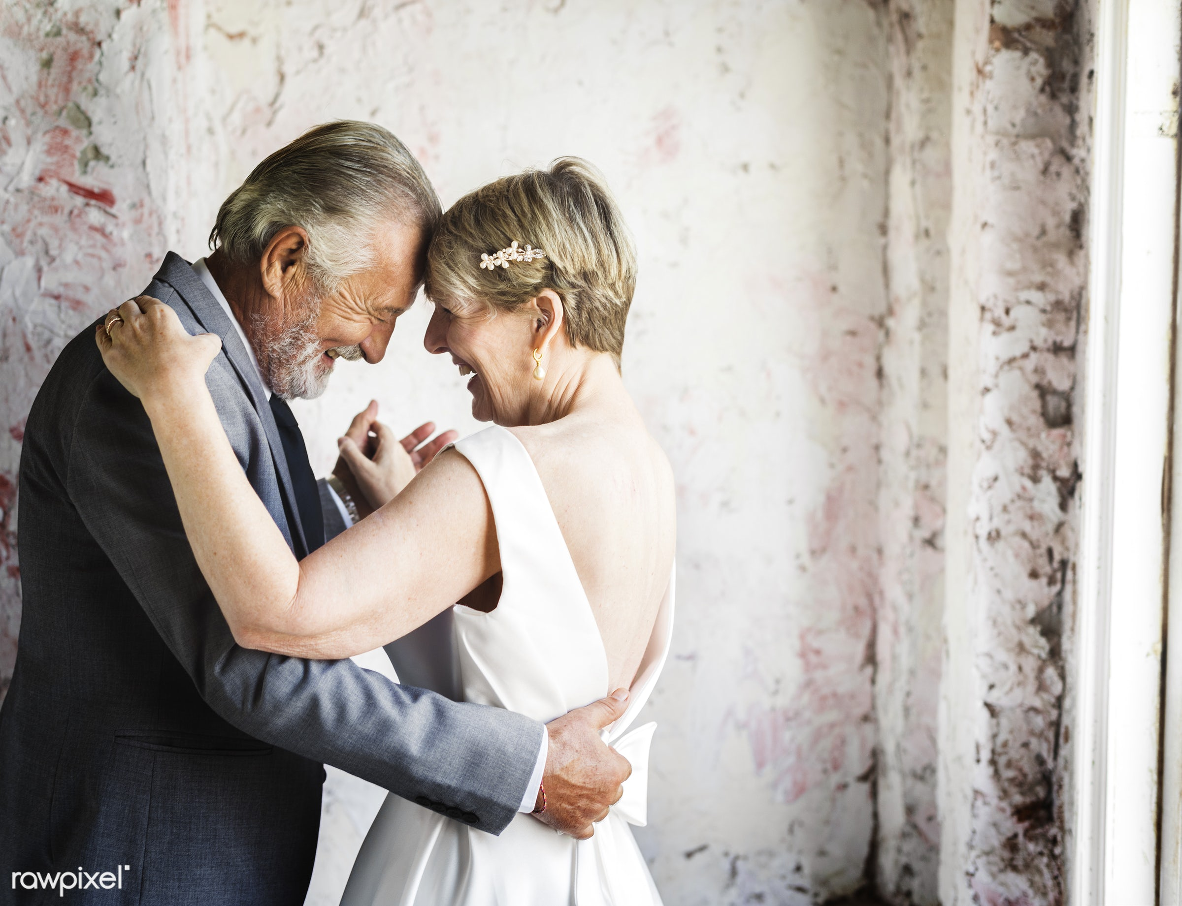 holding, occasion, husband, people, together, caucasian, love, married, hands, spouse, banquet, cheerful, senior couple,...