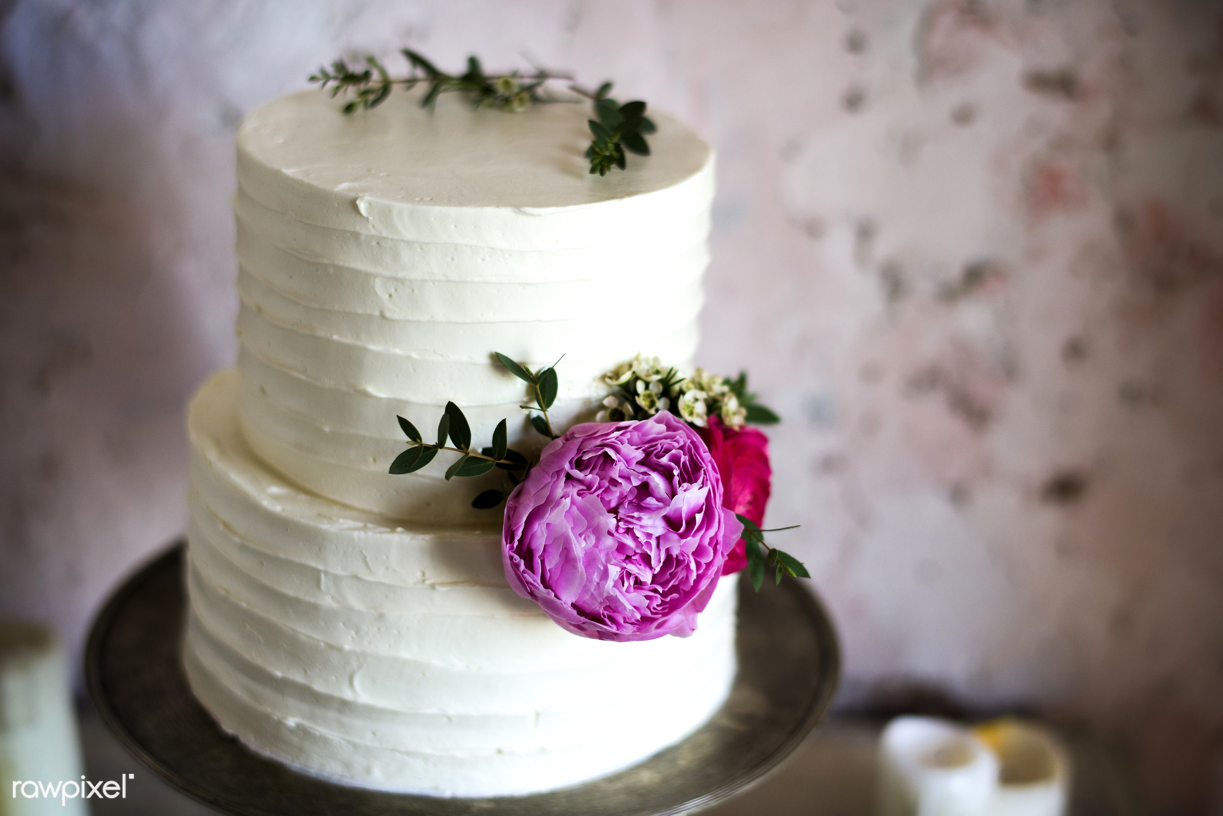 nobody, layers, bakery, event, banquet, flowers, closeup, dessert, cake, decoration, white, ceremony, marriage, reception,...