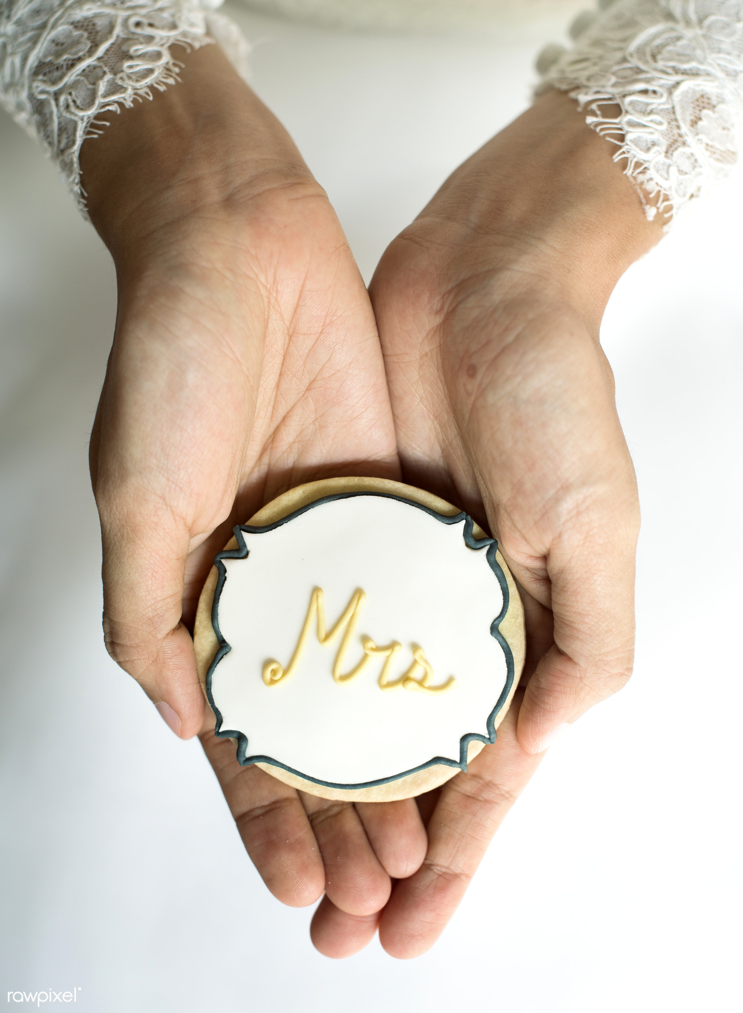 bride, bakery, bridal, celebration, ceremony, closeup, cookie, decoration, dessert, hands, love, marriage, married, occasion...
