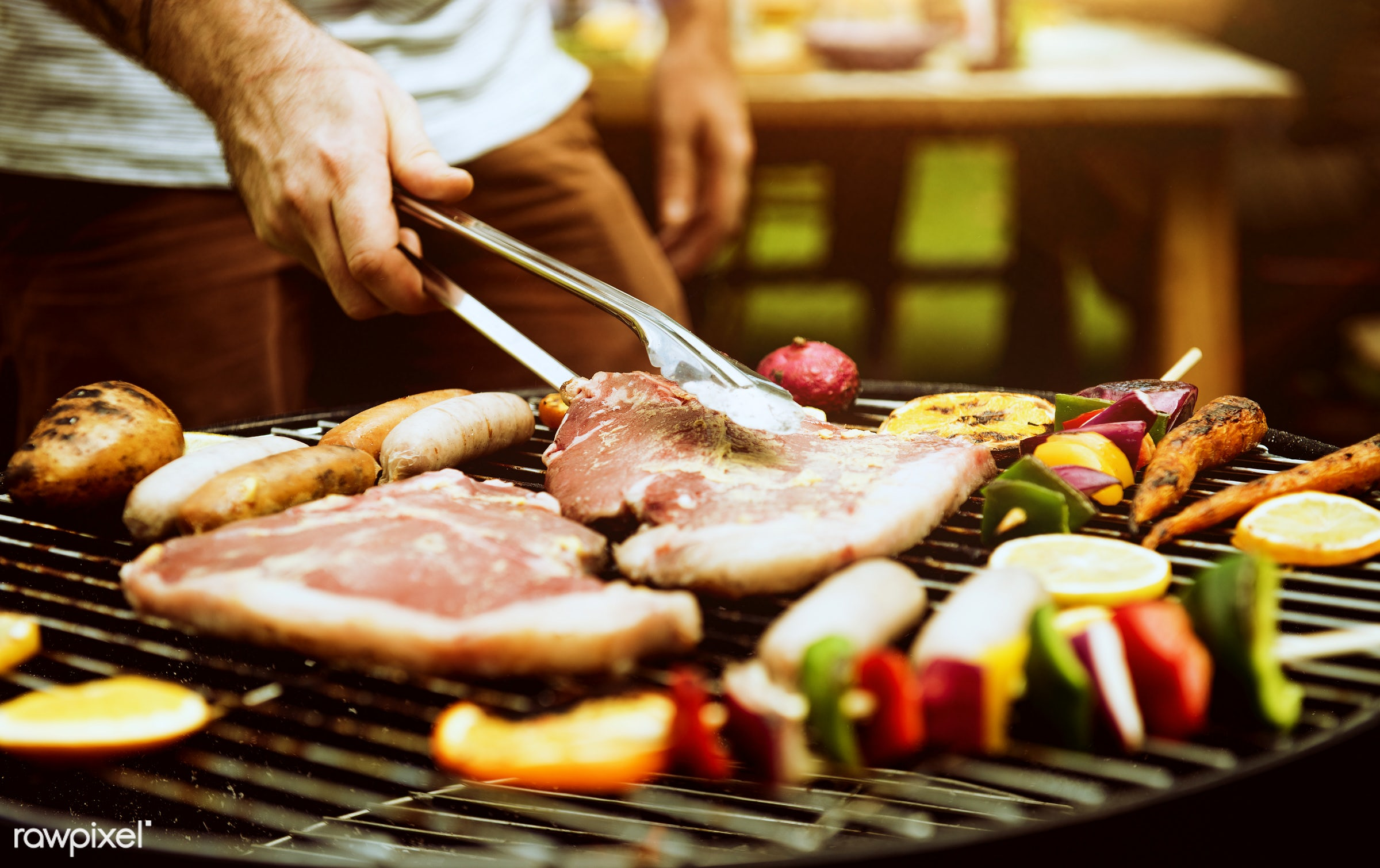 bbq, activity, barbecue, charcoals, cooking, diverse, food, grass, grill, group, hands, holiday, homemade, leisure, meal,...