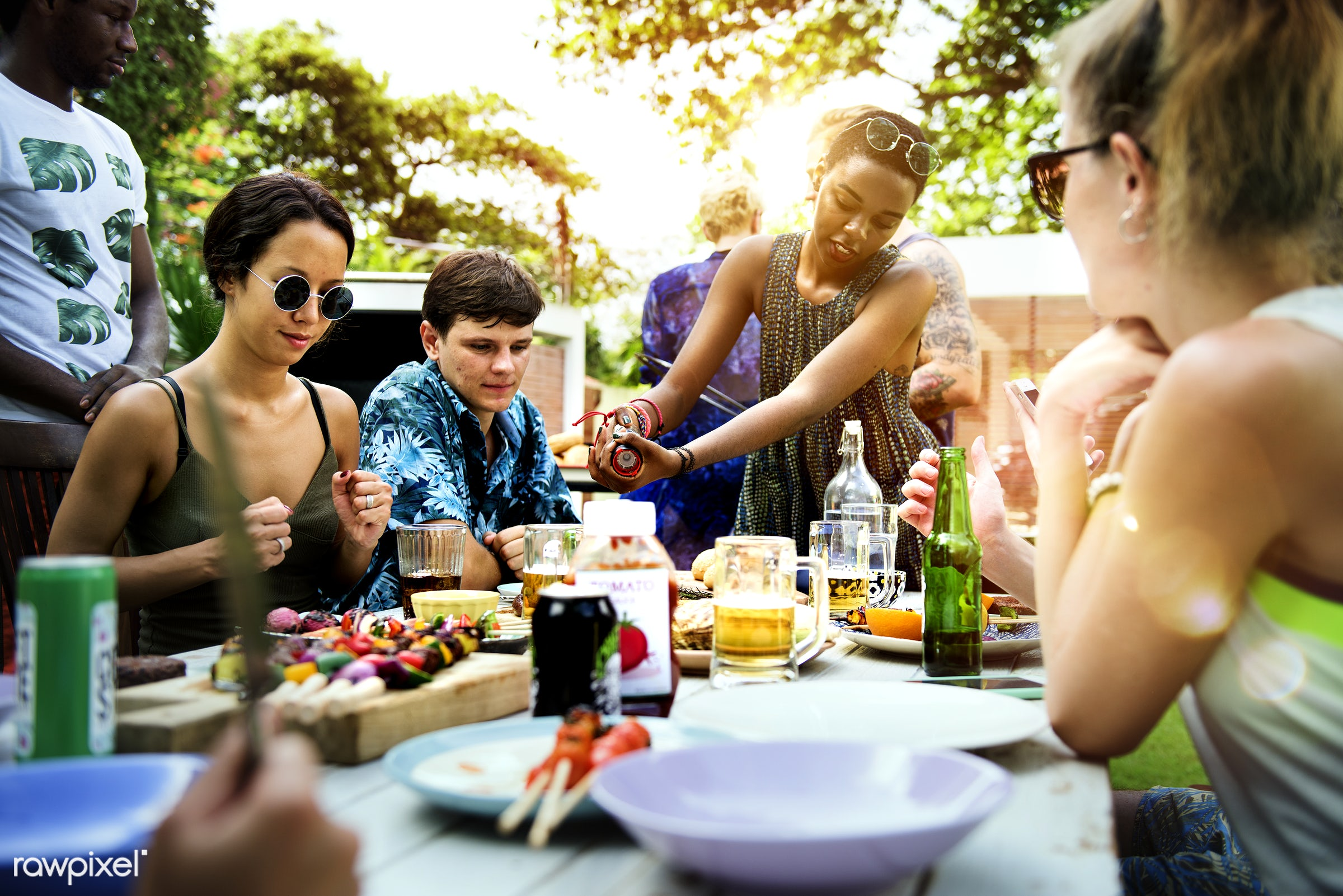 barbecue, barbeque, activities, bbq, charcoal, cheerful, cook, cooking, cookout, food, friendship, grill, grilled, grilling...