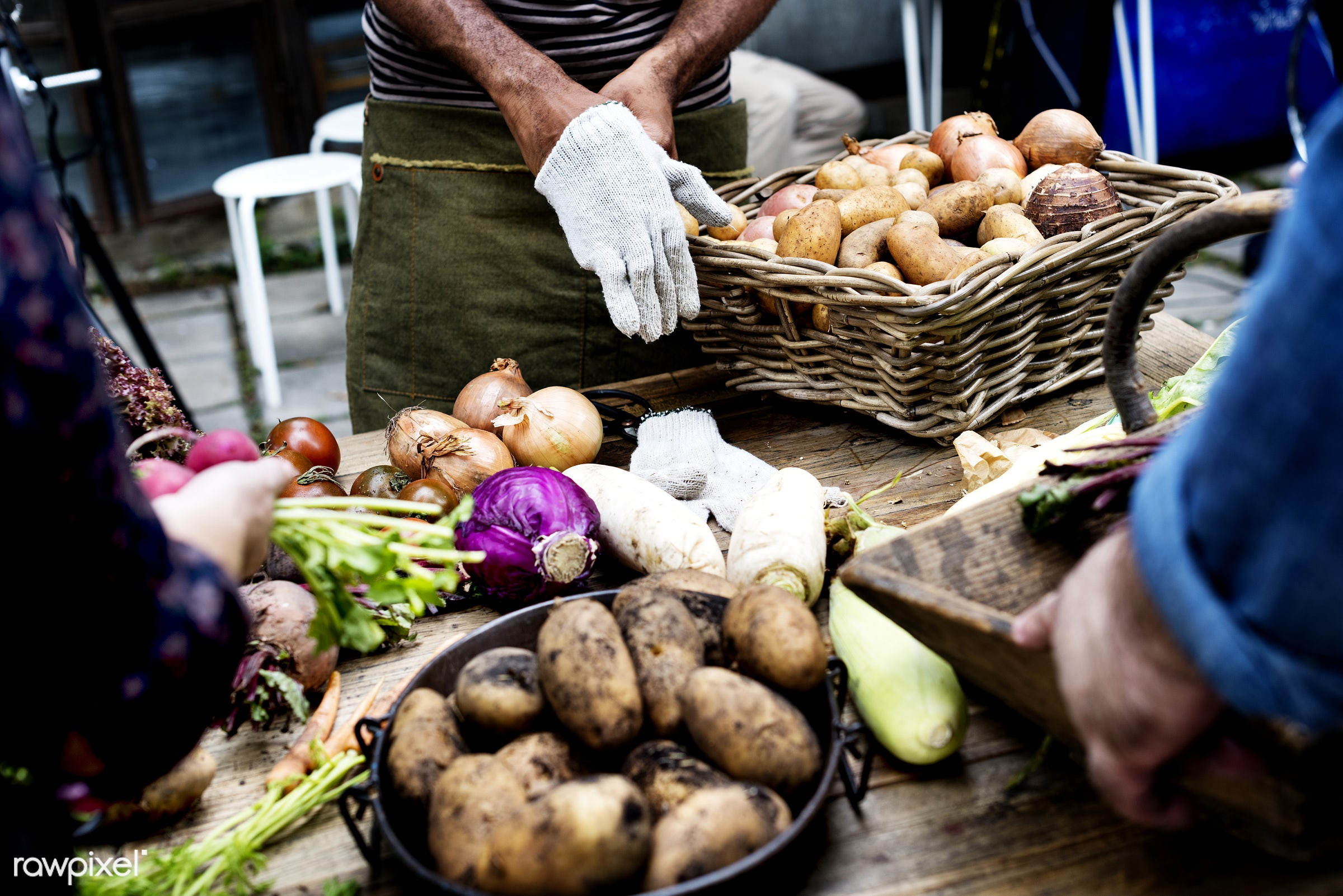 raw, buy, diverse, herbs, caucasian, farm, ingredients, nature, farmer, sell, fresh, hands, products, closeup, african...