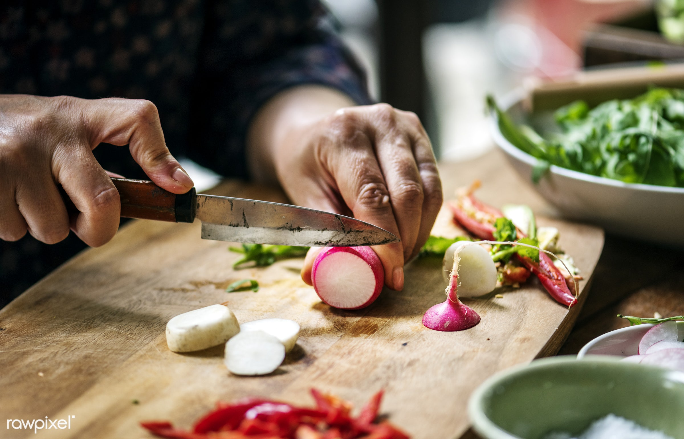 cuisine, variation, turnips, chopping board, type, gastronomy, kind, ingredients, making, cooking, veggie, preparing, knife...