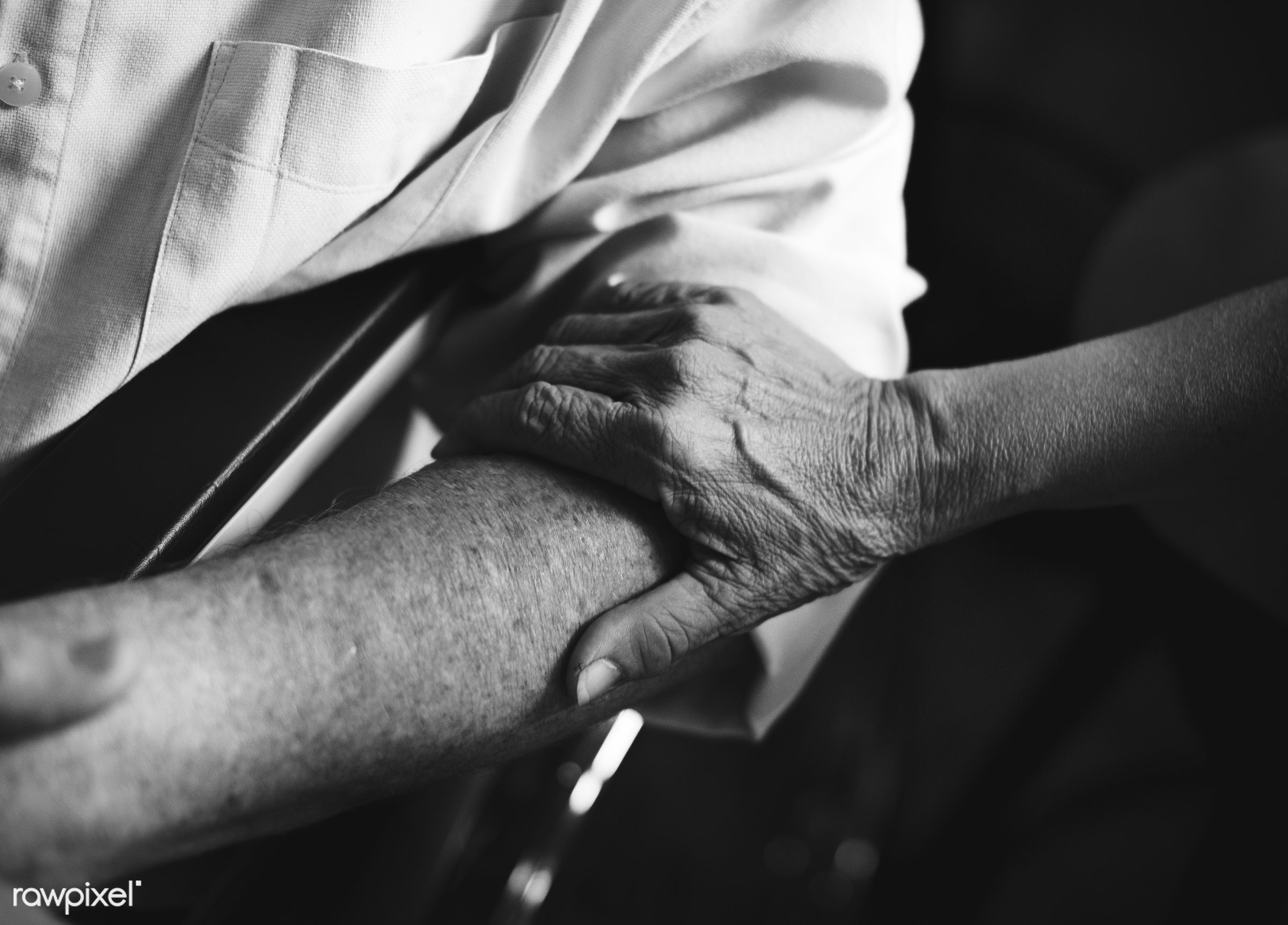 old, people, together, hands, wheelchair, spouse, disability, disable, closeup, handicapped, support, handicap, cares, sit,...