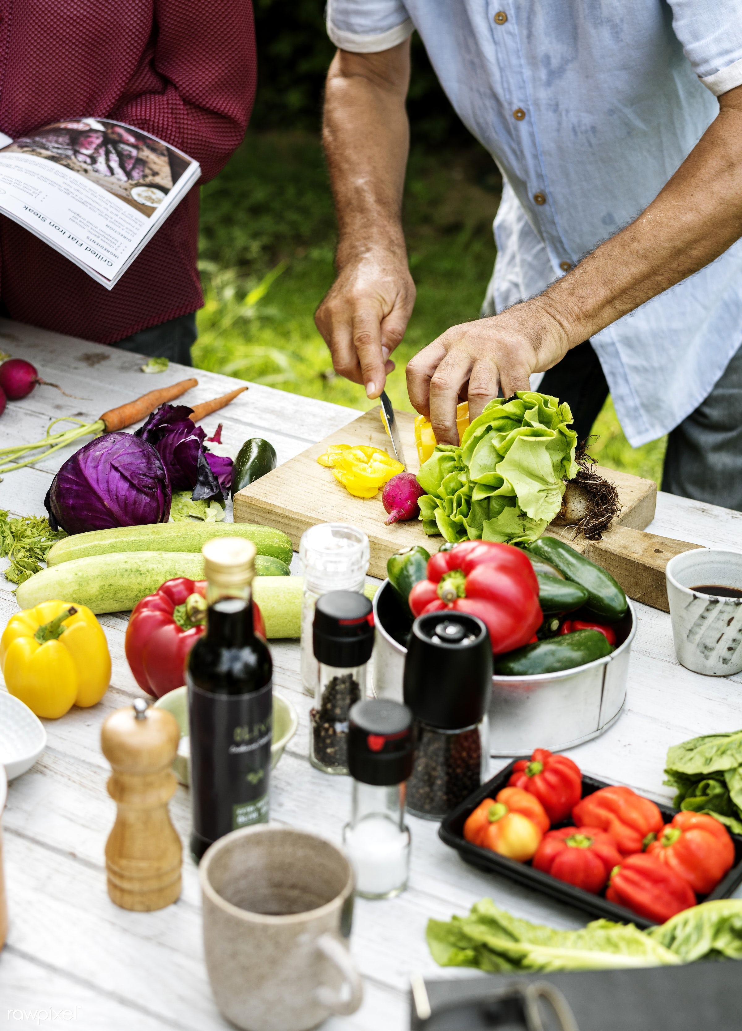 different, salad, recipe, cuisine, homemade, seasoning, fresh, ingredient, cooking, knife, gourmet, meal, cook, preparation...