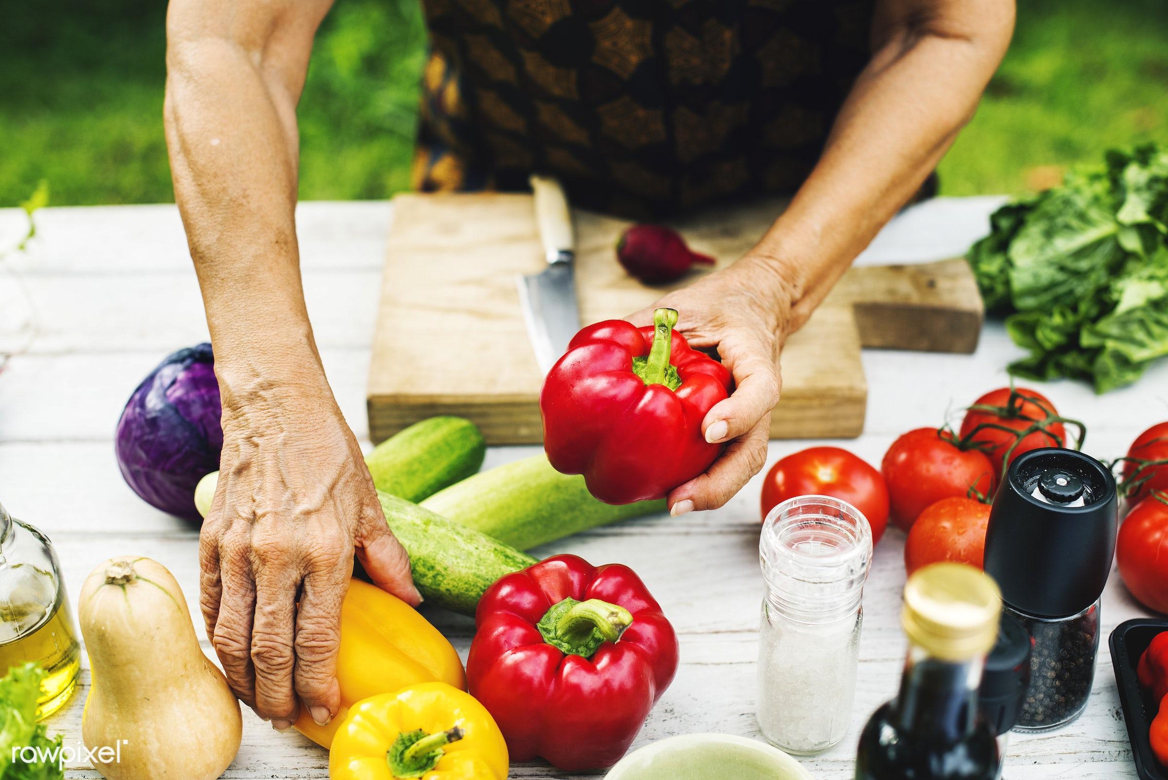different, recipe, cuisine, spice, bell pepper, homemade, seasoning, fresh, ingredient, knife, gourmet, meal, cook,...