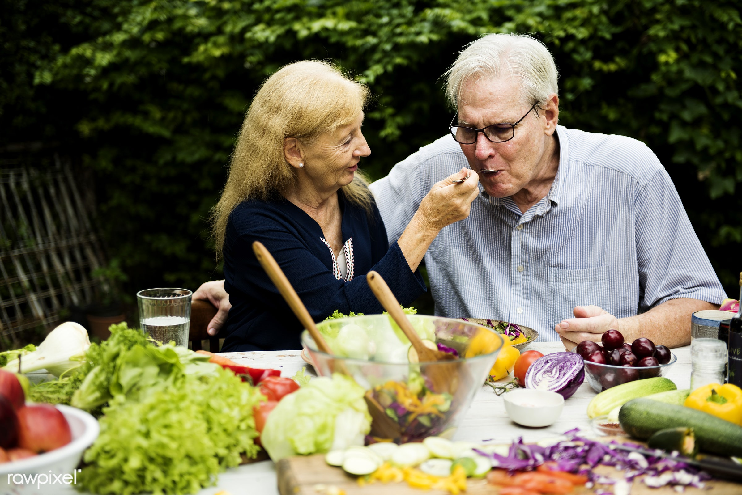 different, salad, recipe, cuisine, homemade, fresh, woman, couple, ingredient, gourmet, man, meal, cook, preparation,...