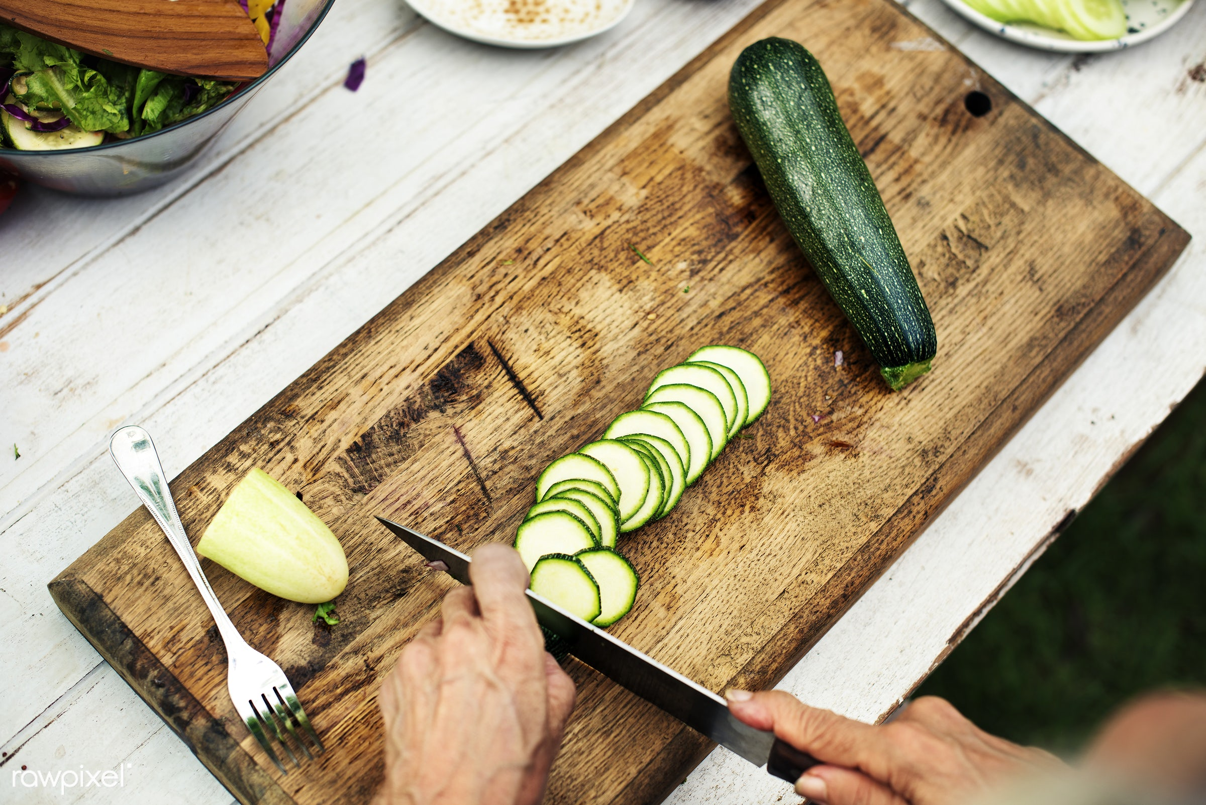 recipe, cuisine, homemade, zucchini, fresh, ingredient, cooking, gourmet, knife, meal, cook, fork, preparation, cutting...