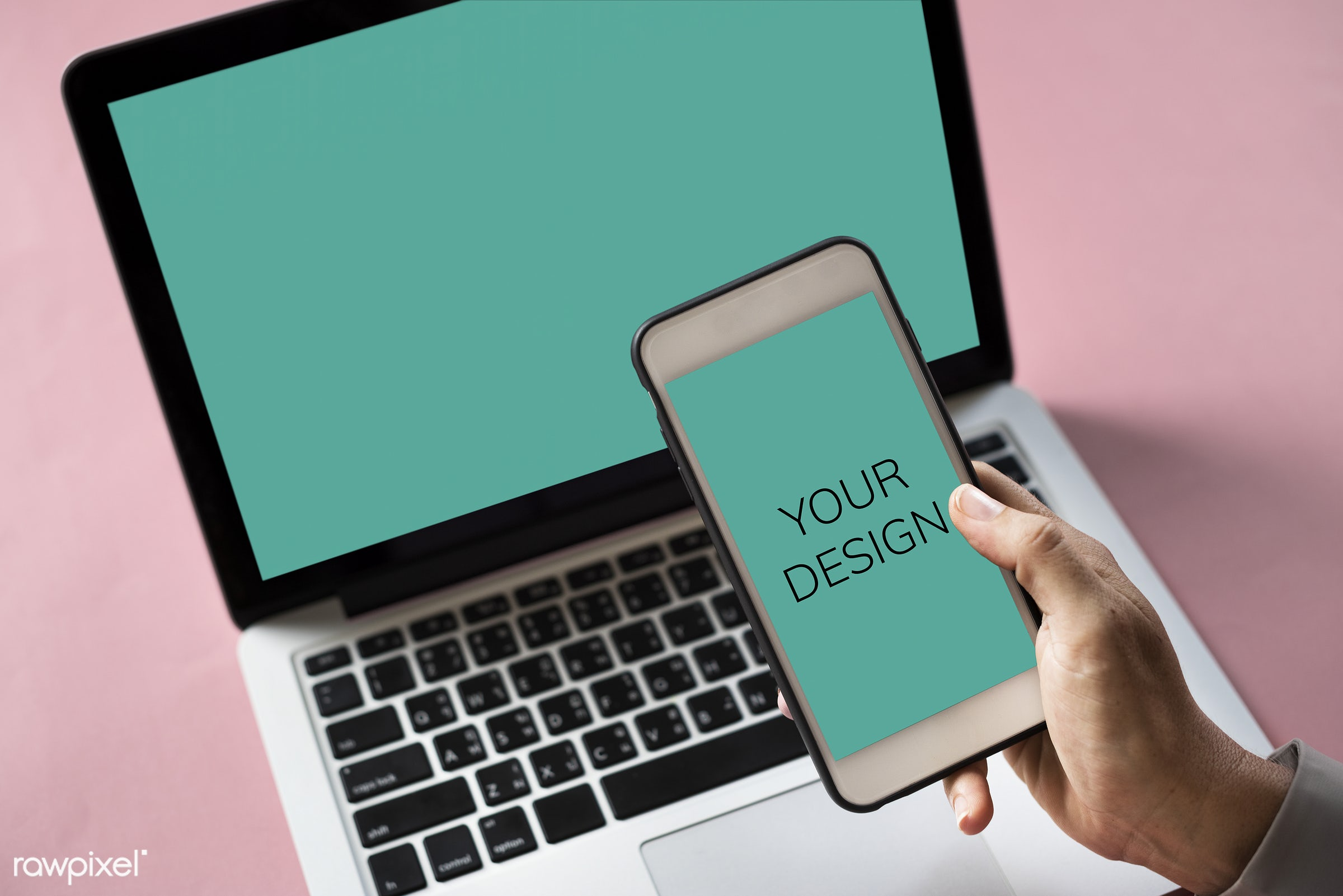 Your design on a smartphone screen - your, design, hand, smartphone, concept, difference, different, forward, individual,...