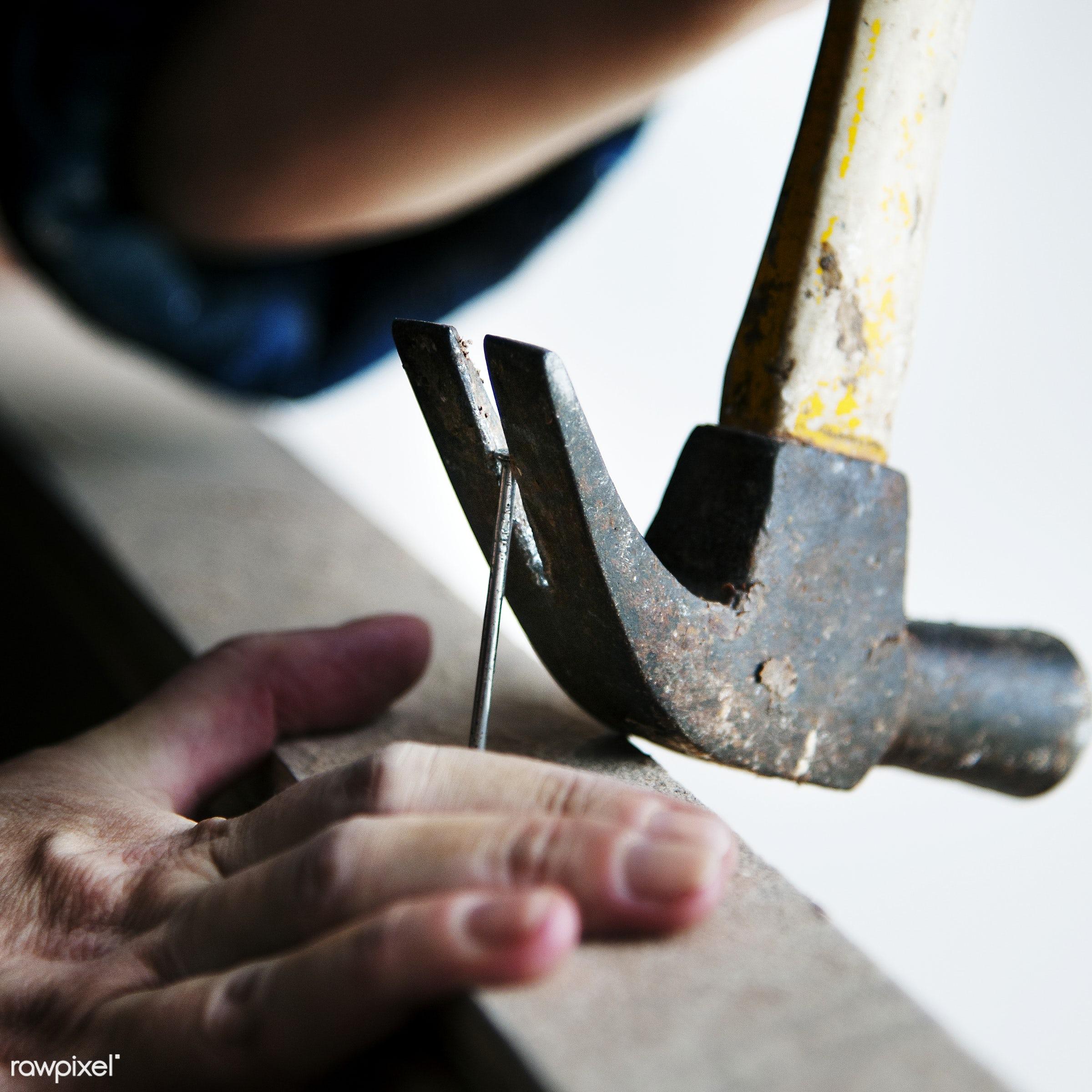 craft, wood, carpentry, tool, plank, equipment, hammer, diy, carpenter, craftsman, handyman, worker, repair, industry,...