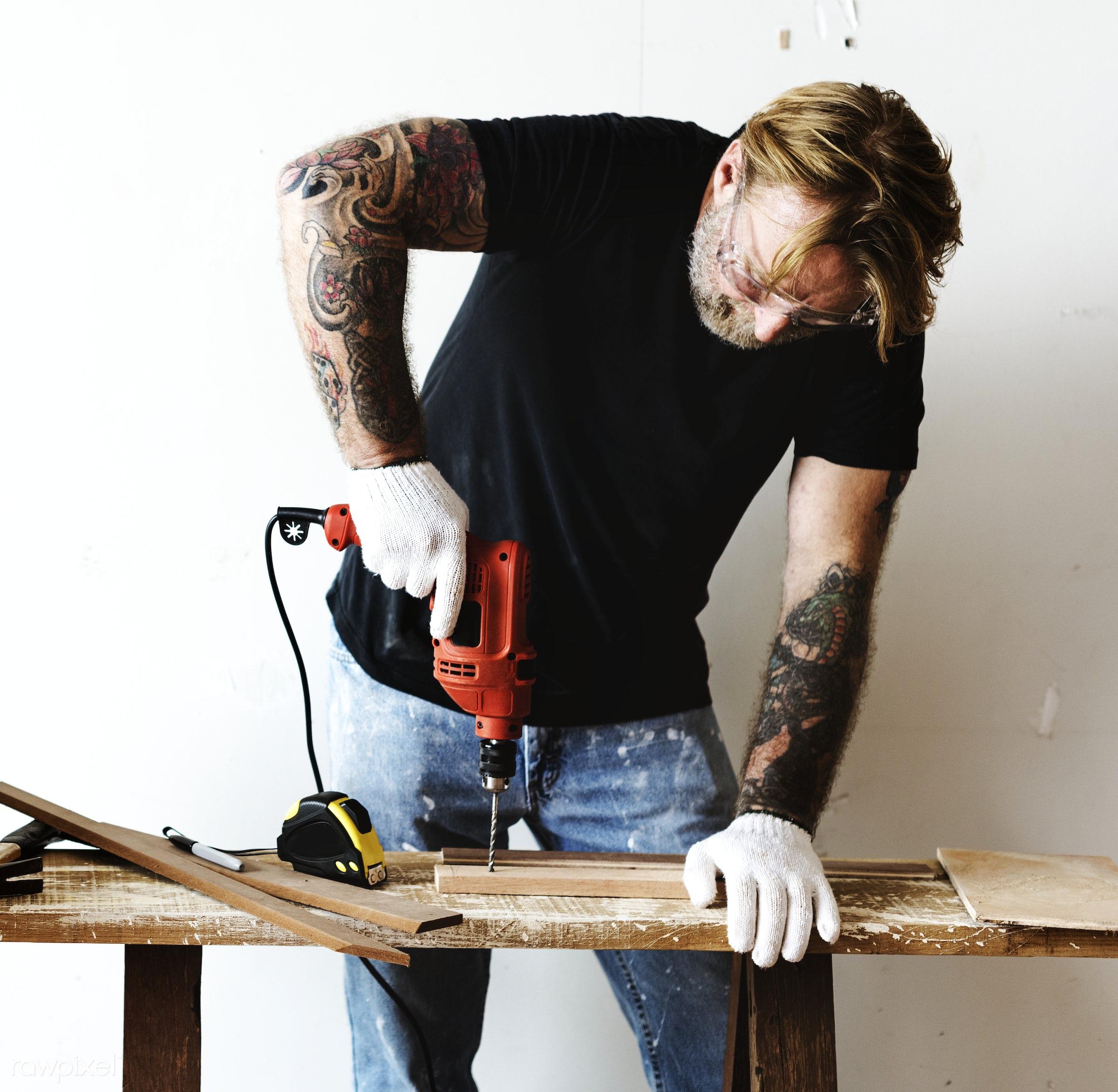 home, technician, development, wood, tool, equipment, house, engineering, installation, repairman, carpenter, handyman,...