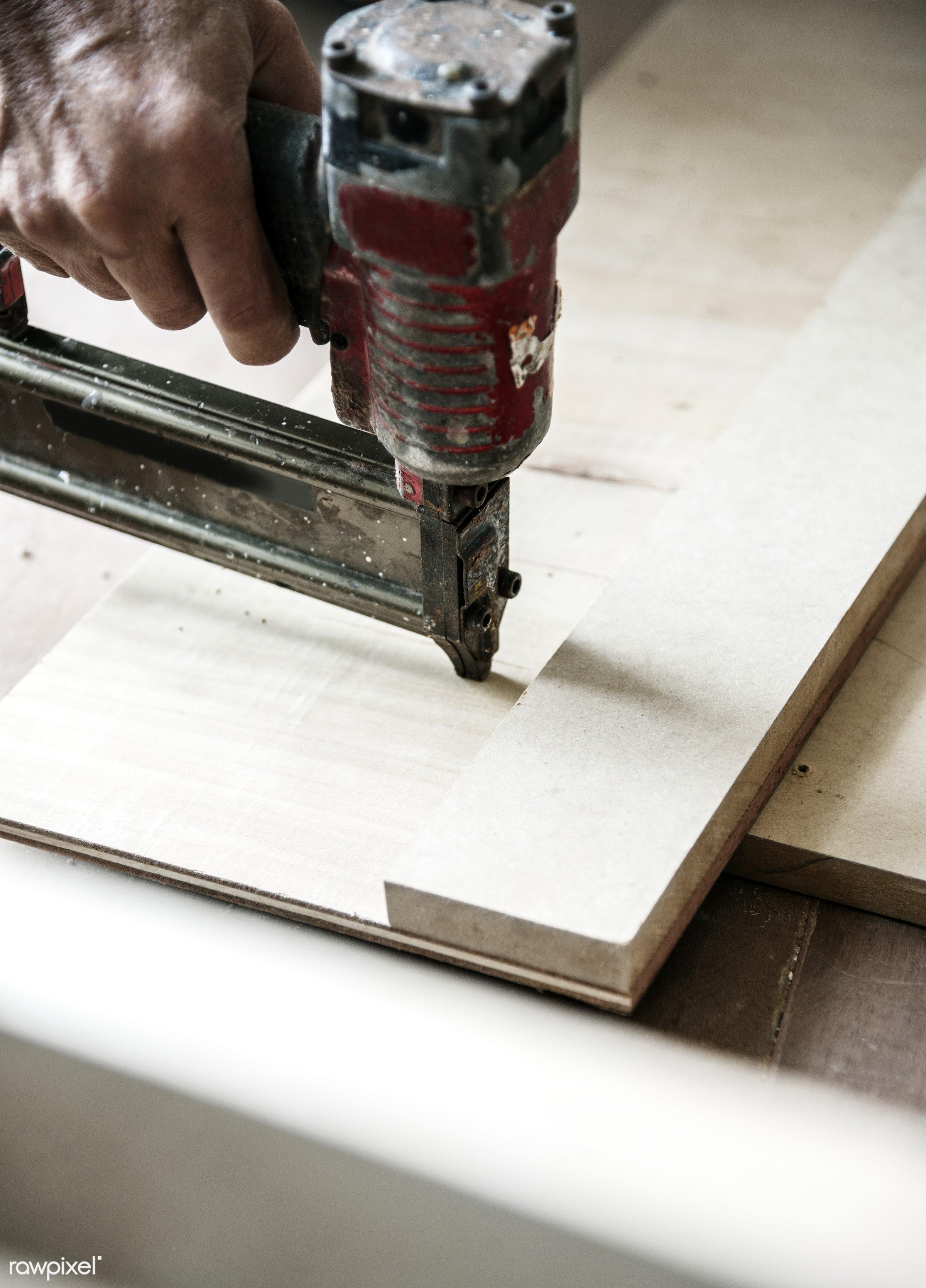 craft, wood, carpentry, tool, plank, equipment, diy, carpenter, handyman, craftsman, worker, industry, construction, closeup...