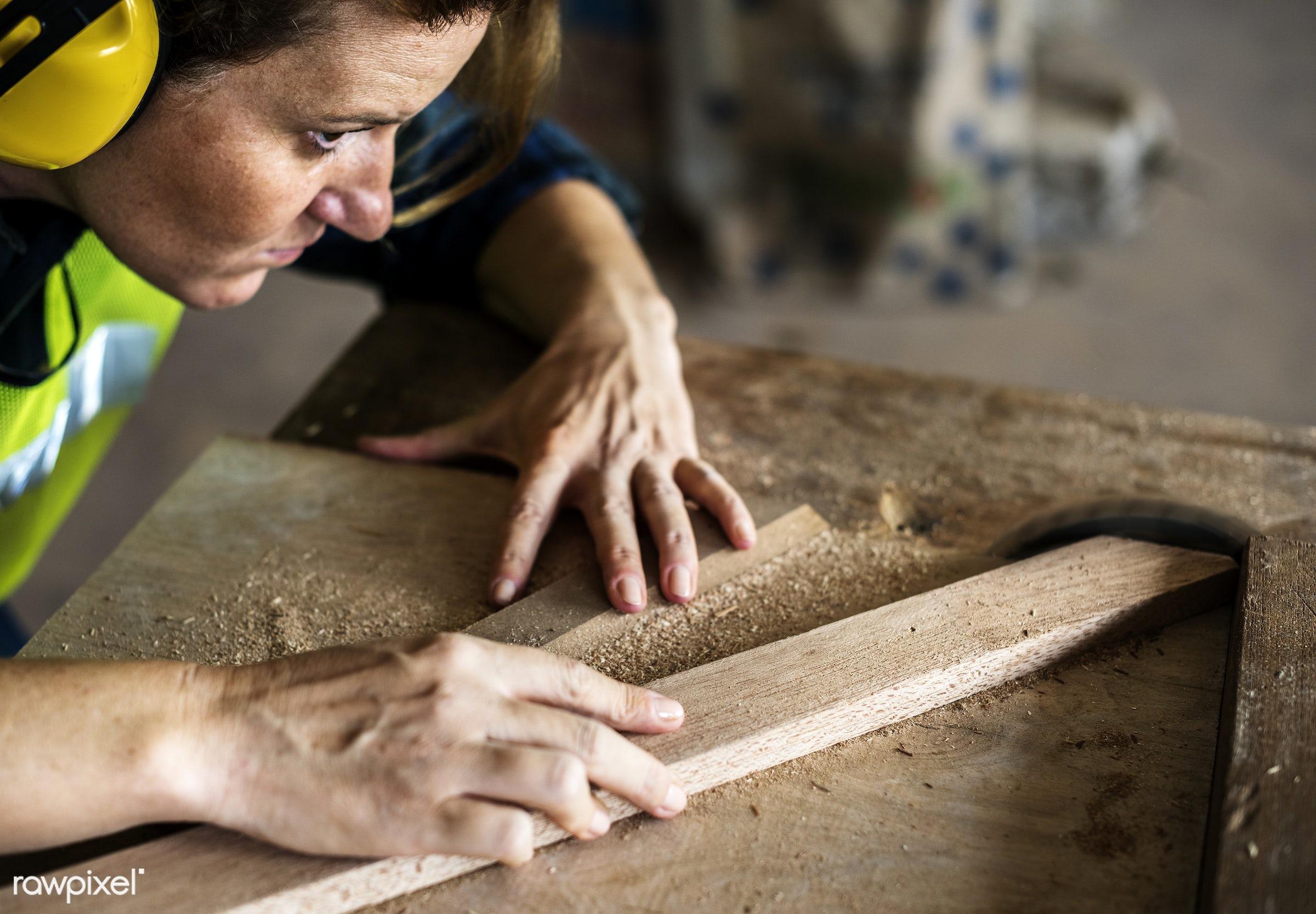craft, wood, carpentry, tool, plank, equipment, diy, carpenter, woman, craftsman, handyman, worker, repair, industry,...