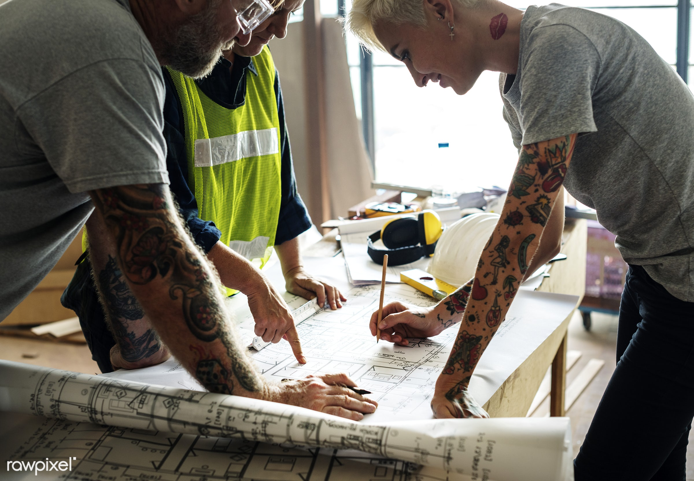 interior, model, paper, architecture, build, engineering, drawing, document, tattoo, construction, man, structure, engineer...
