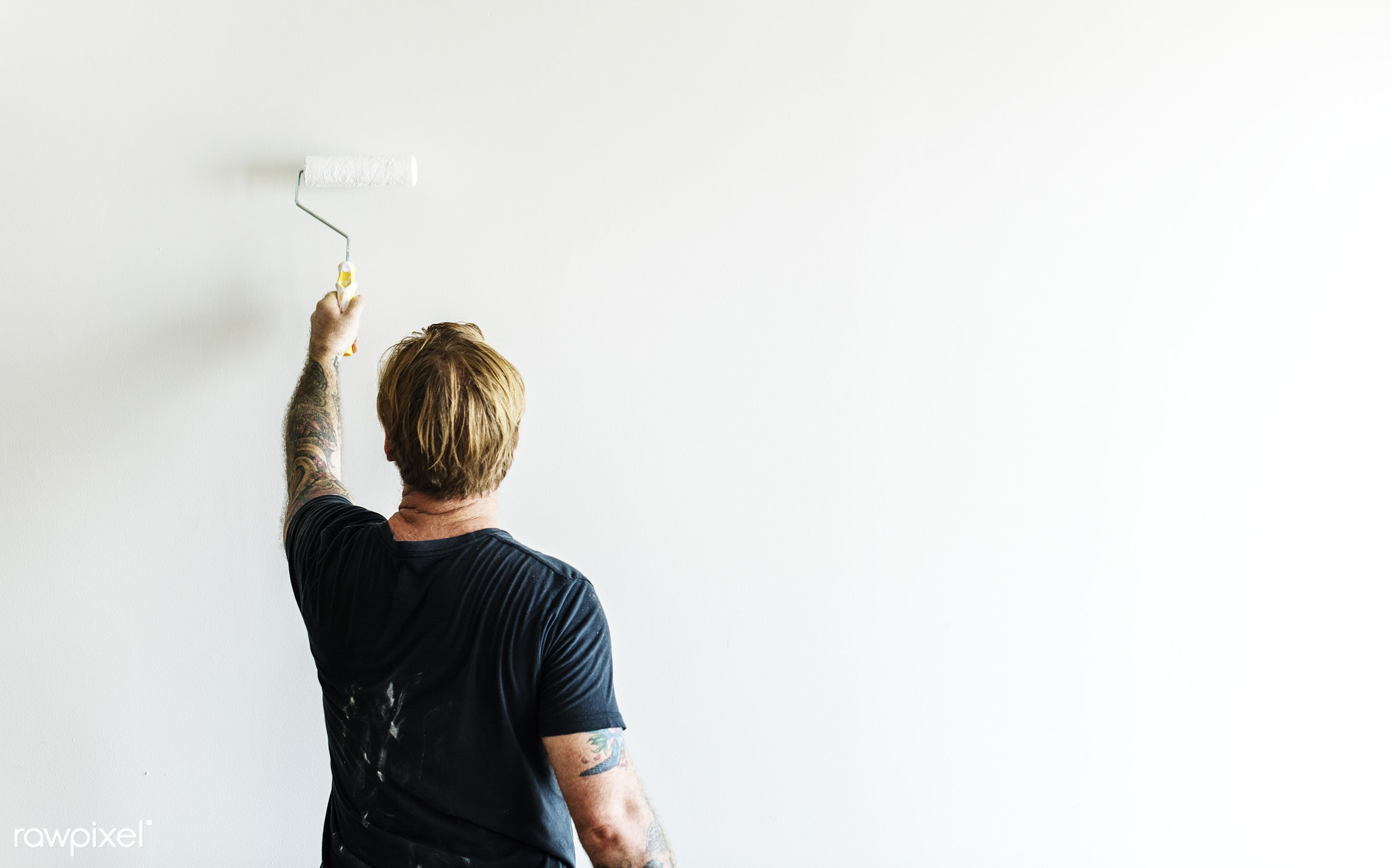 interior, home, indoor, tool, house, space, diy, decor, roller, colored, painter, tattoo, decorating, renovation, man,...