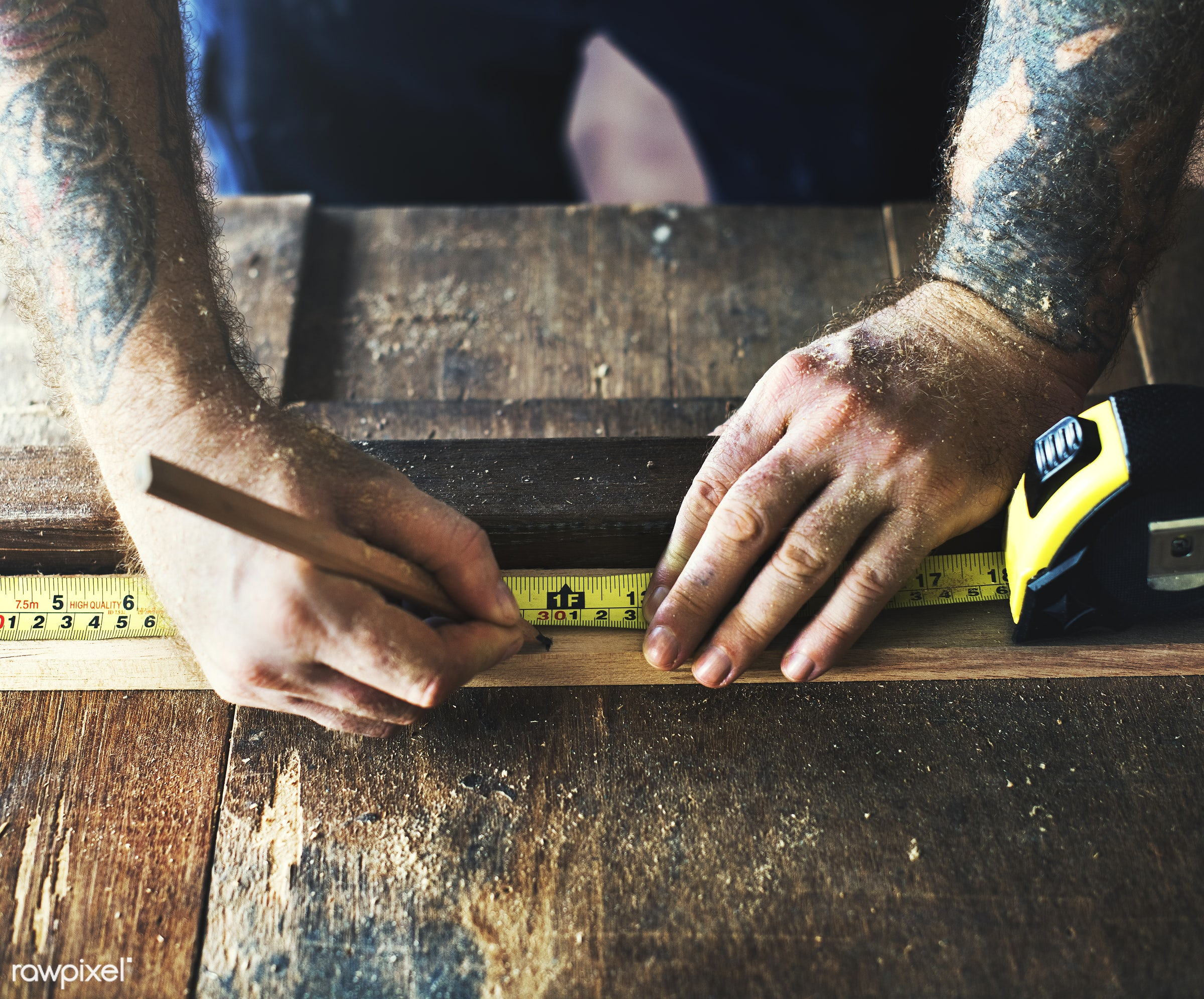 craft, wood, carpentry, tool, plank, equipment, diy, carpenter, handyman, craftsman, worker, repair, tattoo, industry,...
