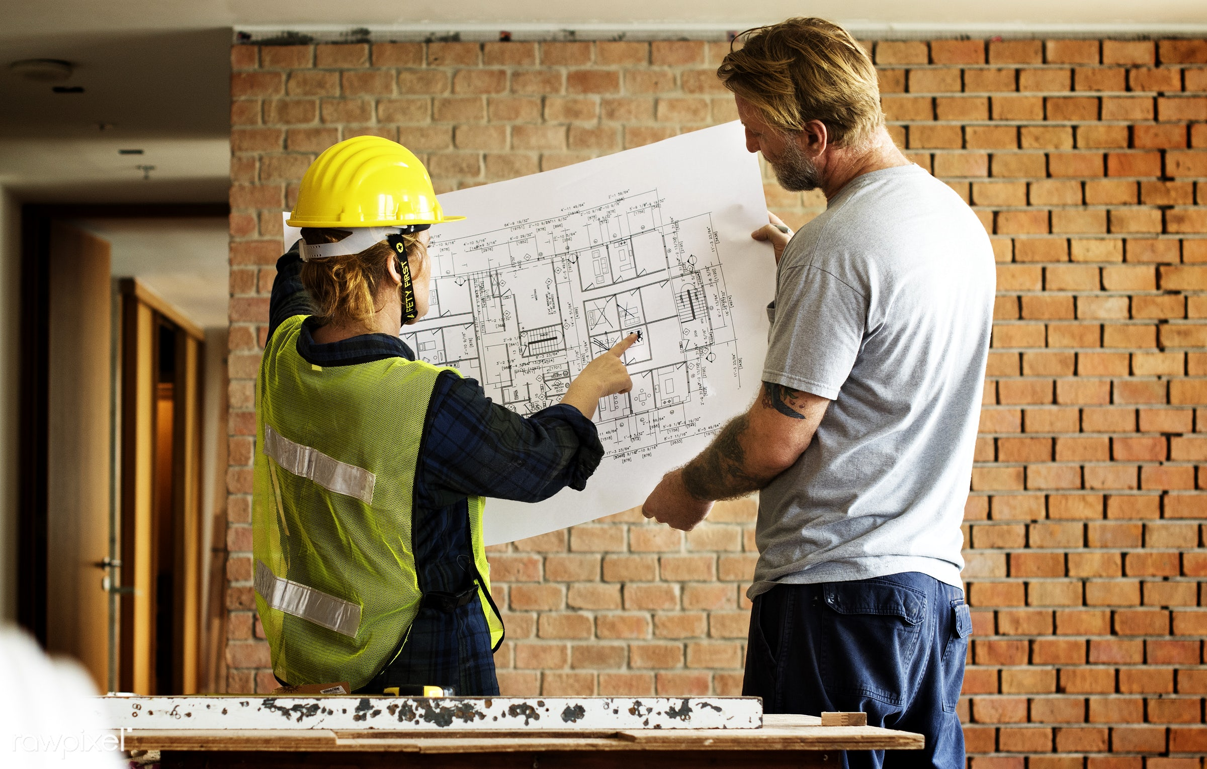 interior, model, brick, paper, architecture, build, engineering, drawing, document, woman, tattoo, construction, man,...