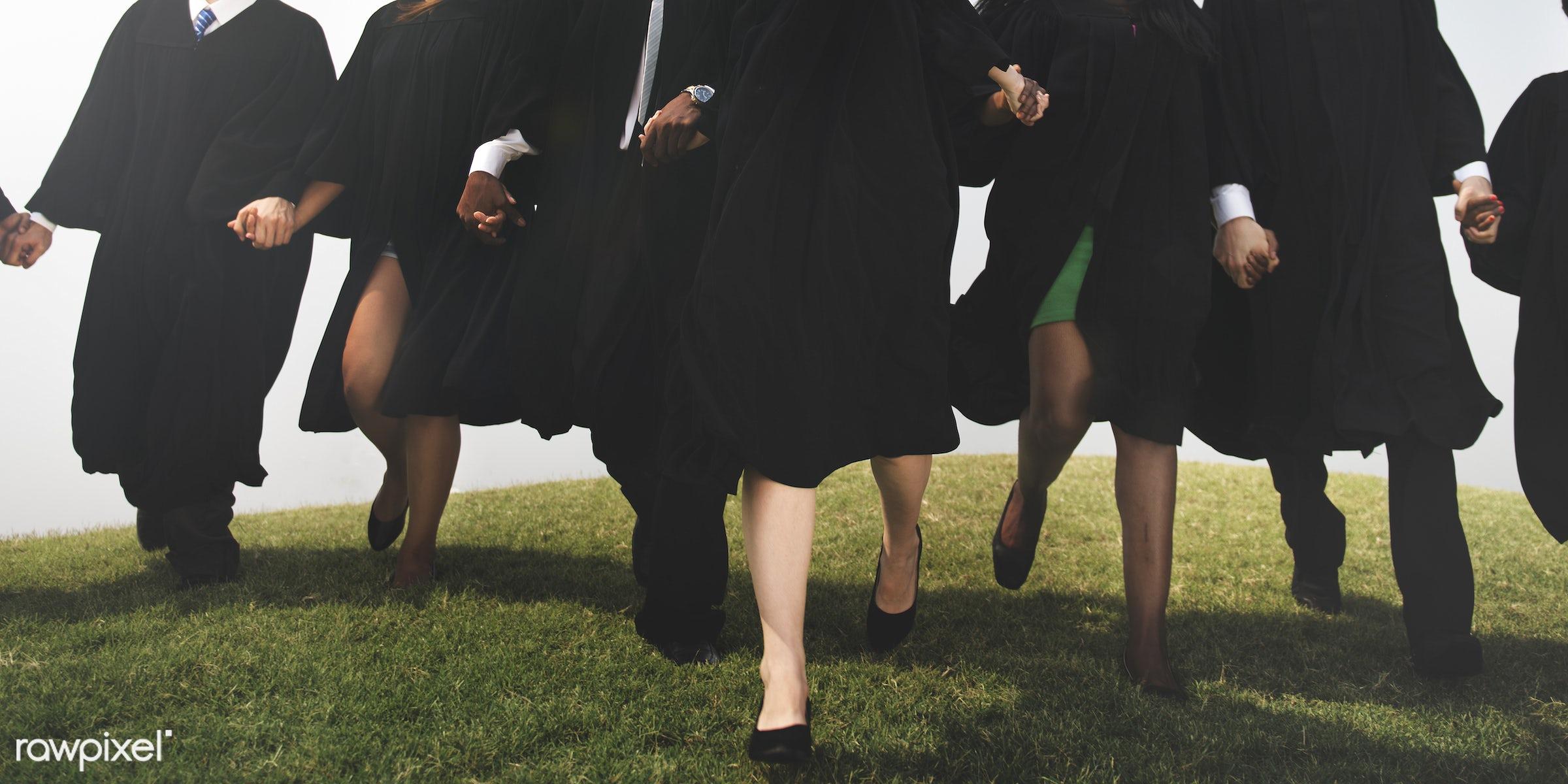 academic, achievement, african descent, asian ethnicity, celebration, college, diverse, diversity, education, field,...