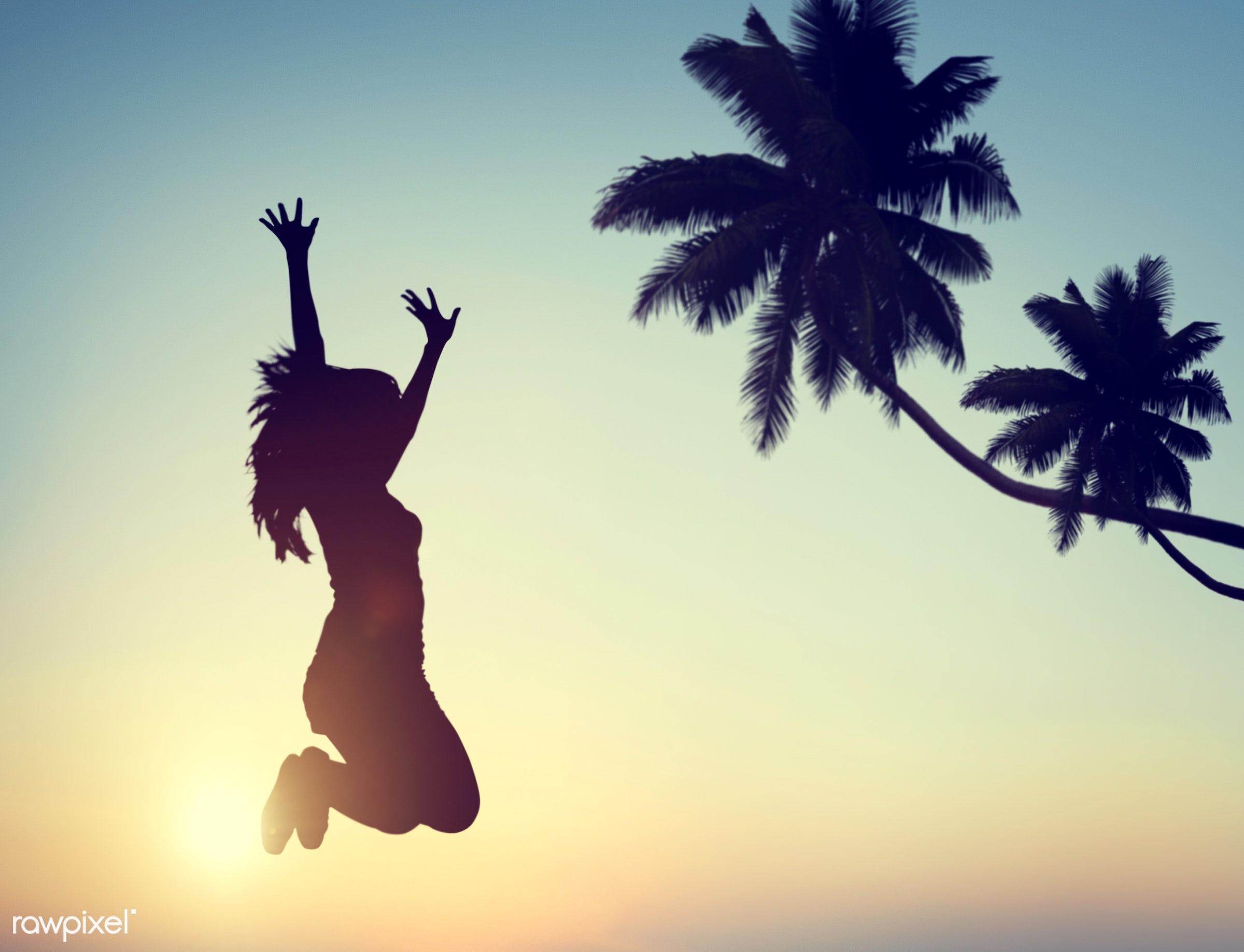 achievement, back lit, care free, celebration, cheerful, concepts, diversity, ecstatic, enjoyment, excitement, exercising,...