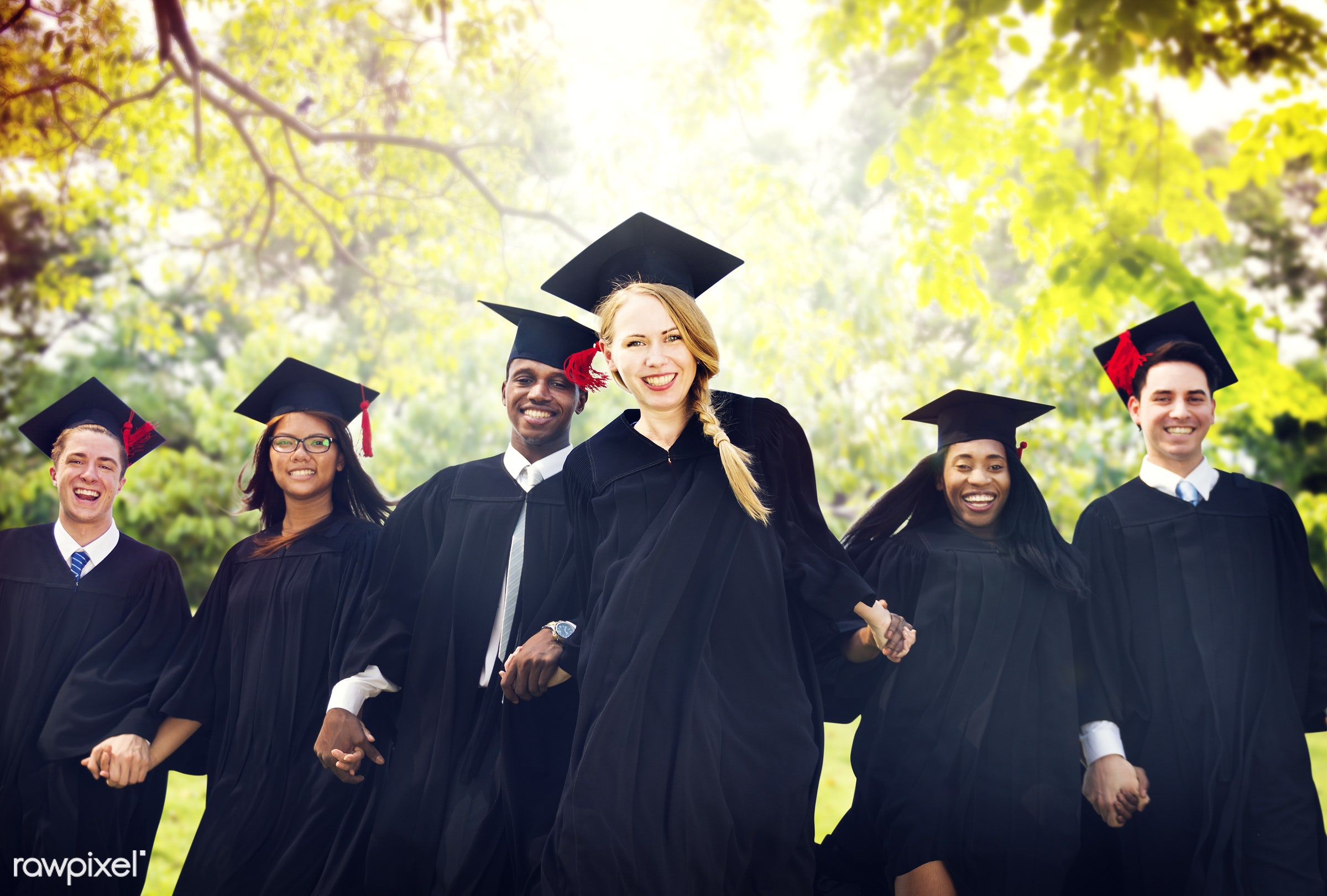 academic, achievement, african descent, altogether, asian ethnicity, celebration, ceremony, certificate, cheerful, college,...