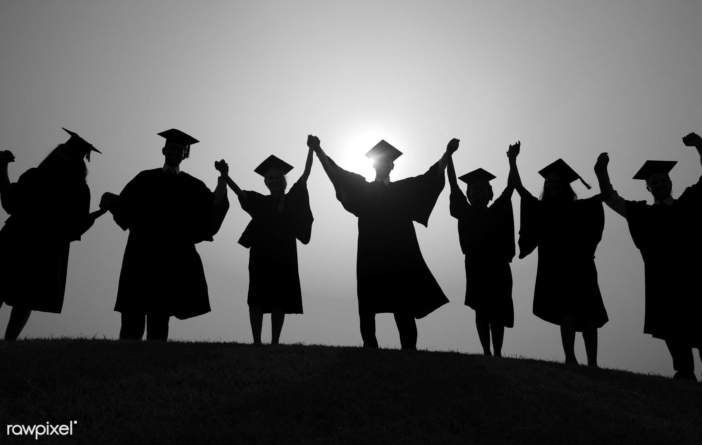celebration event, hat, achievement, adult, arms outstretched, arms raised, celebration, ceremony, cheerful, college student...