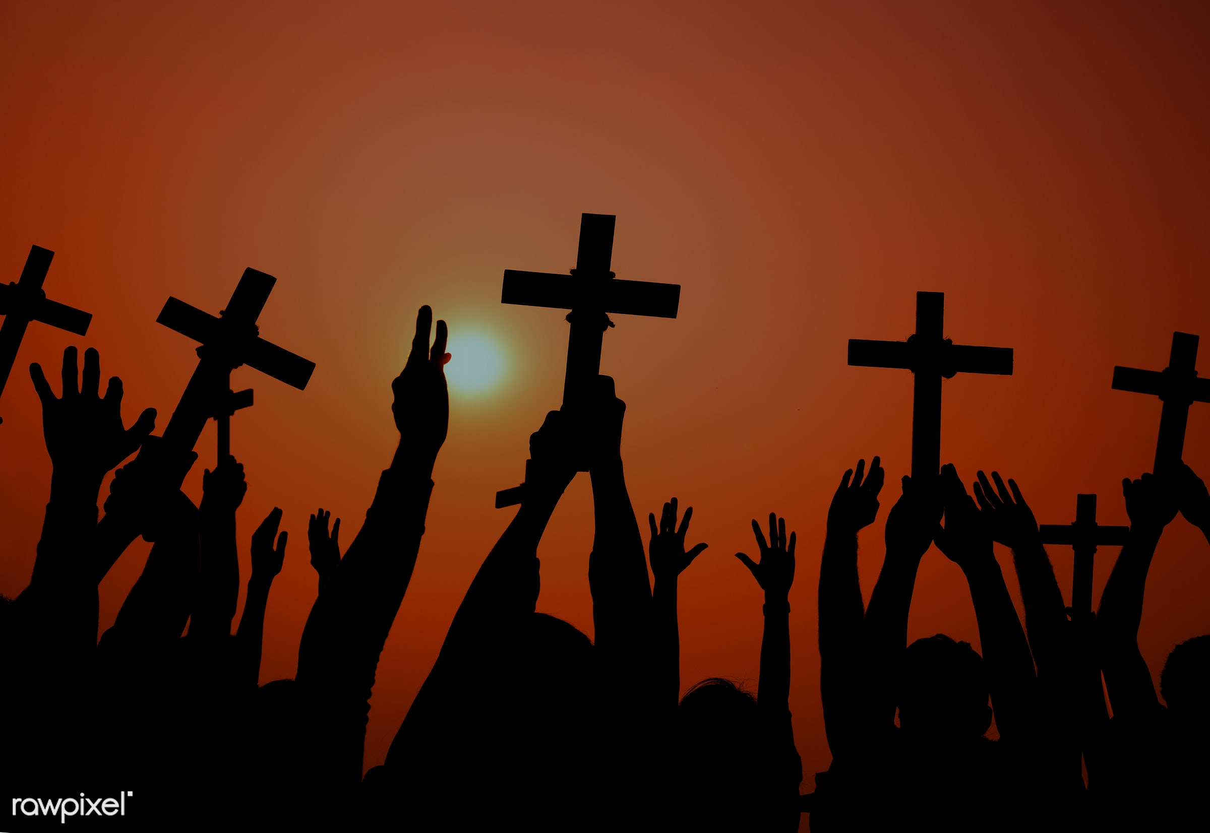 arm raised, aspiration, bowing, catholicism, cemetery, christianity, cross, cross shape, crucifix, death, easter, eternity,...