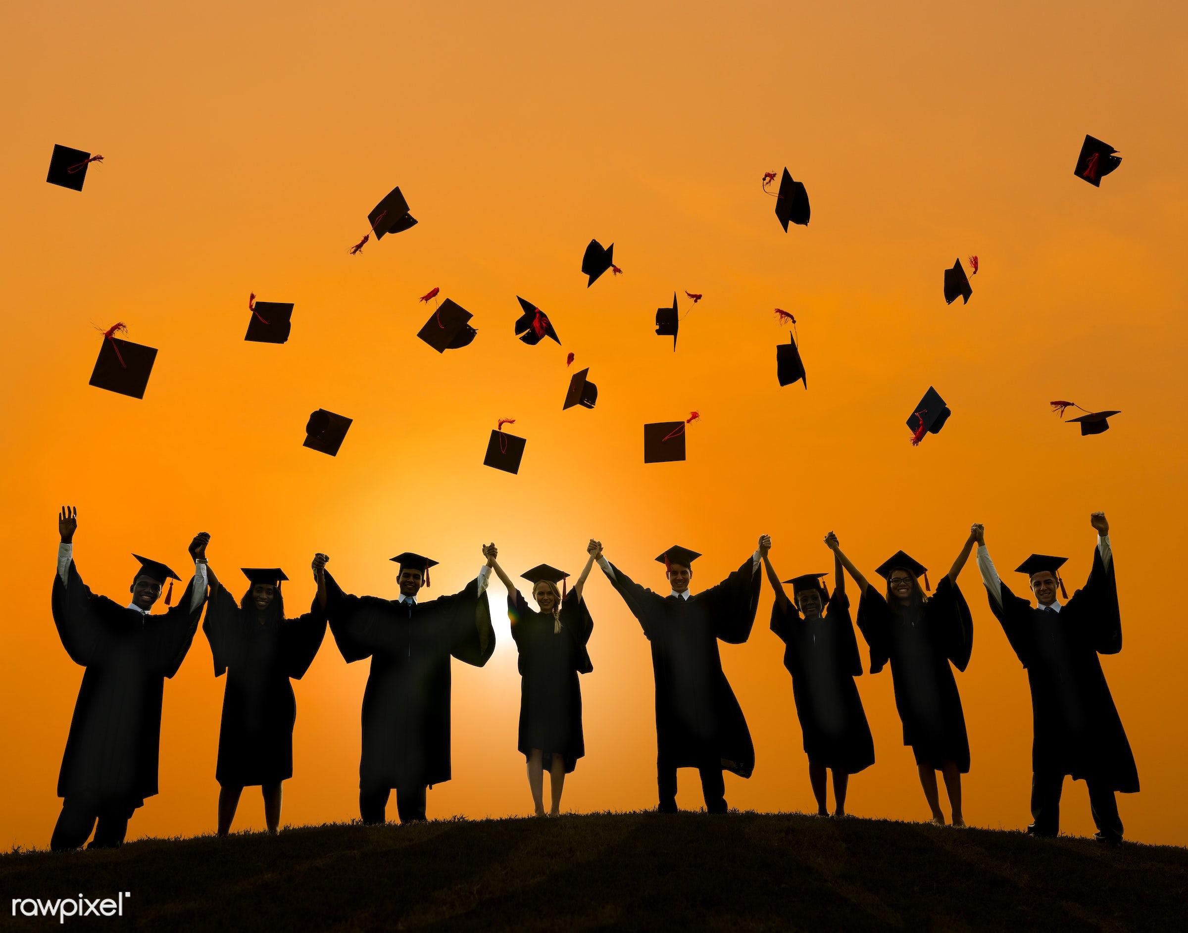 graduate, academic, achievement, campus, cap, celebration, ceremony, certificate, cheerful, college, college student,...