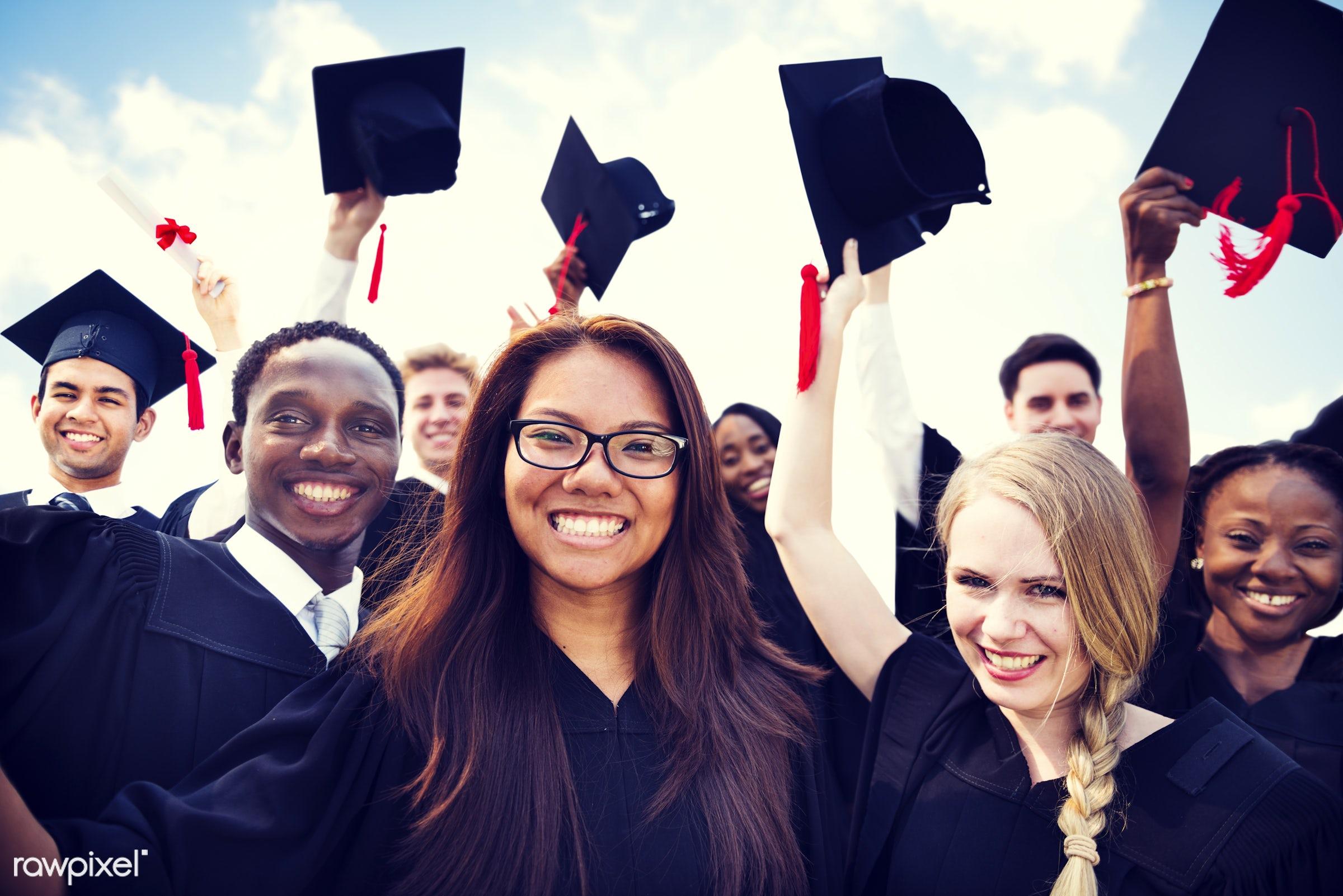 graduation, academic, achievement, african, african american, african descent, african ethnicity, afro american, black,...