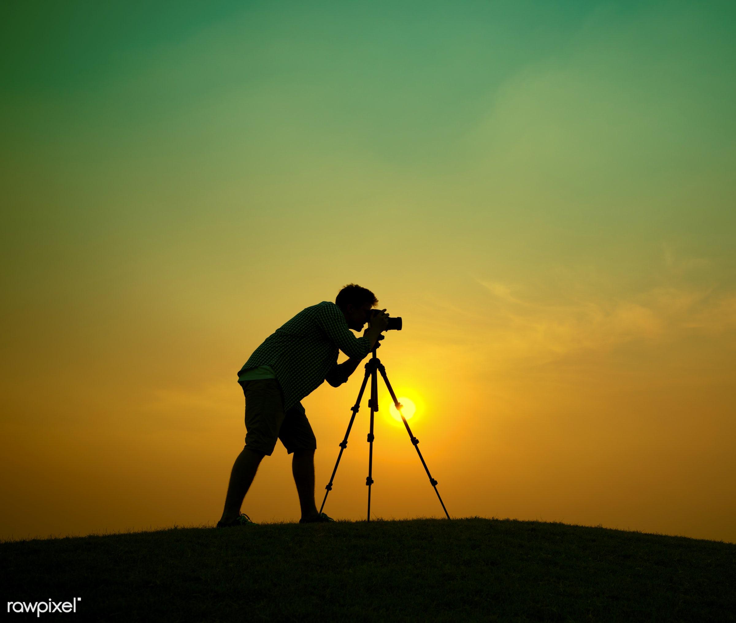 activity, adventure, alone, art, artist, camera, cameraman, colorful, concentration, concepts, creativity, dawn, evening,...