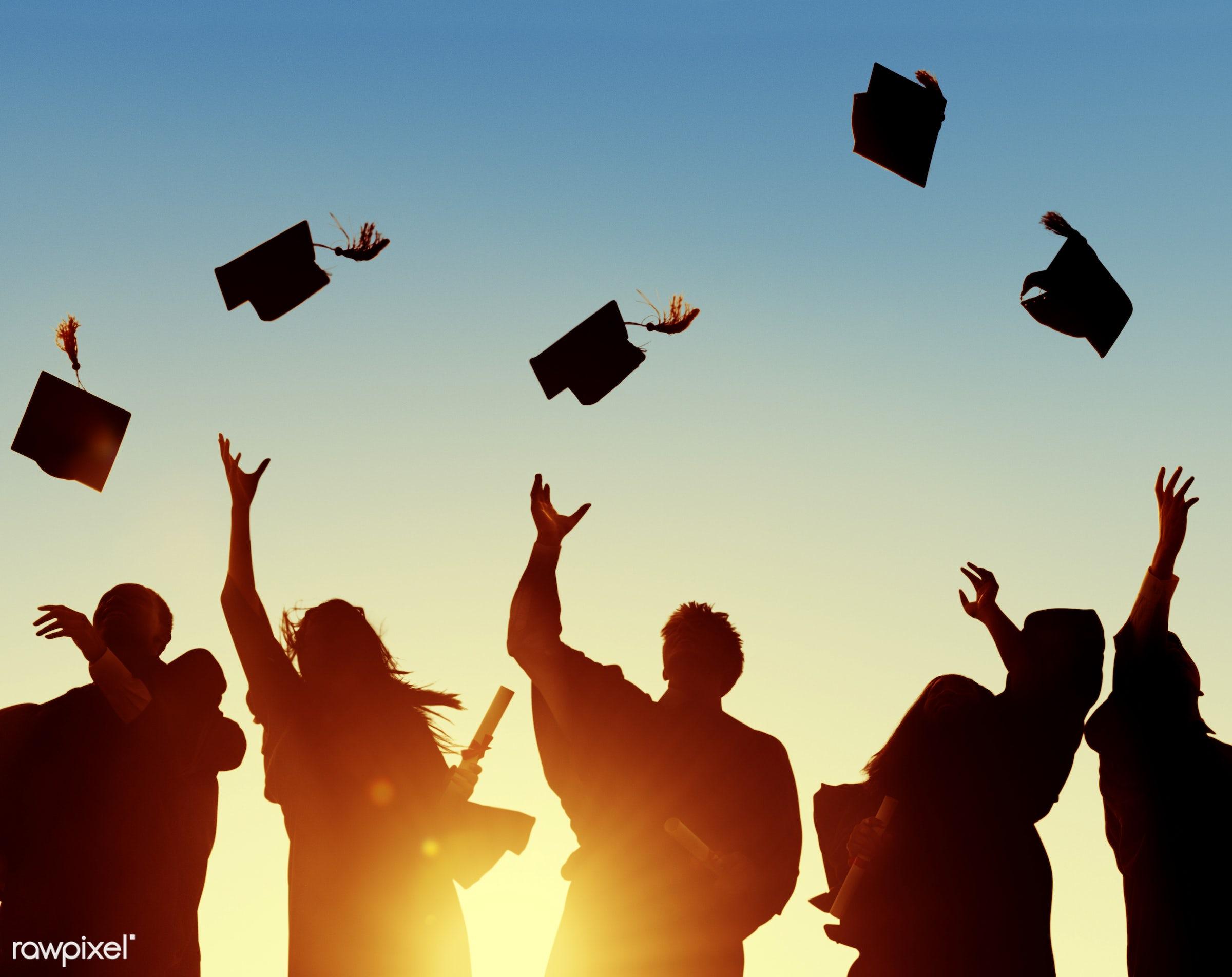graduation, academic, achievement, campus, cap, celebration, ceremony, certificate, cheerful, college, college student,...