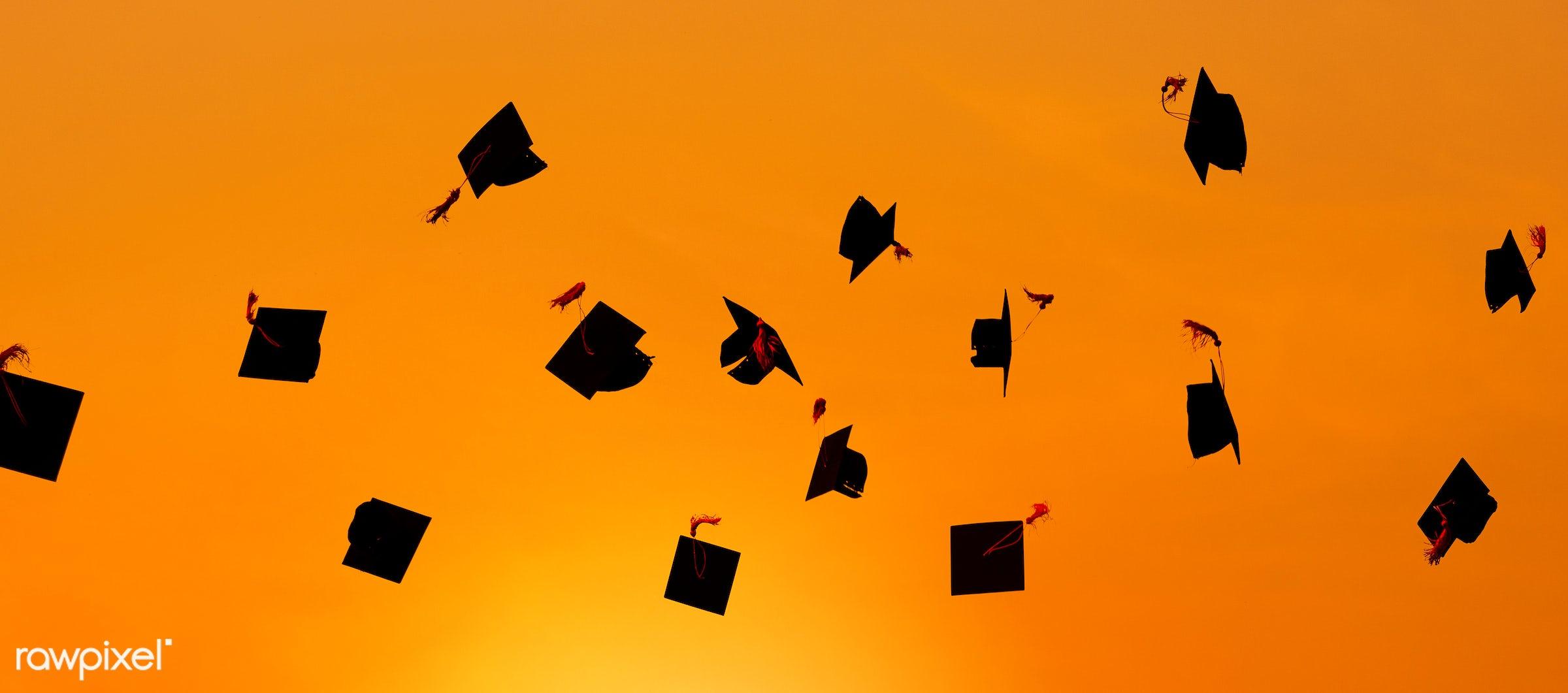 hat, academic, achievement, campus, cap, celebration, ceremony, certificate, cheerful, college, college student,...