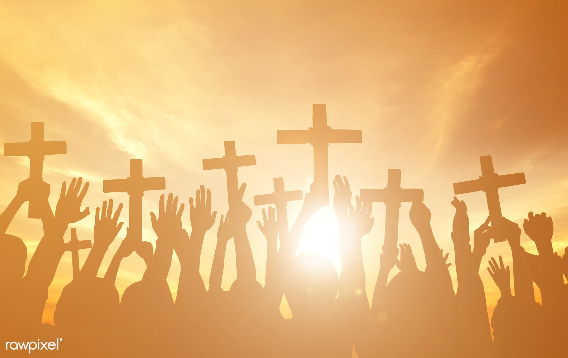 applauding, christian, holding, arms outstretched, arms raised, aspiration, back lit, believe, christianity, church, cloud,...